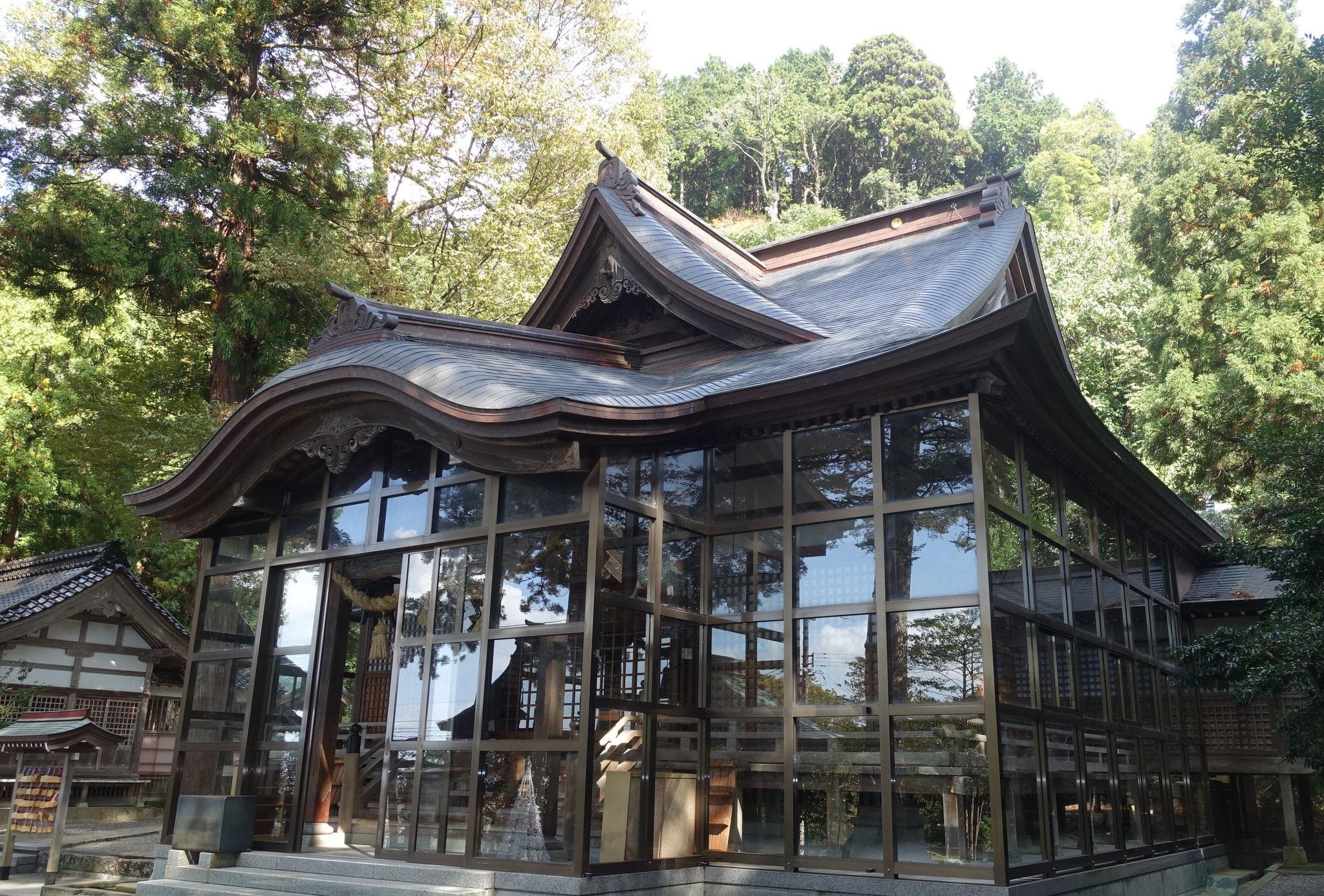 金劔宮(きんけんぐう) 鶴来にある故船井幸雄氏に紹介された神社