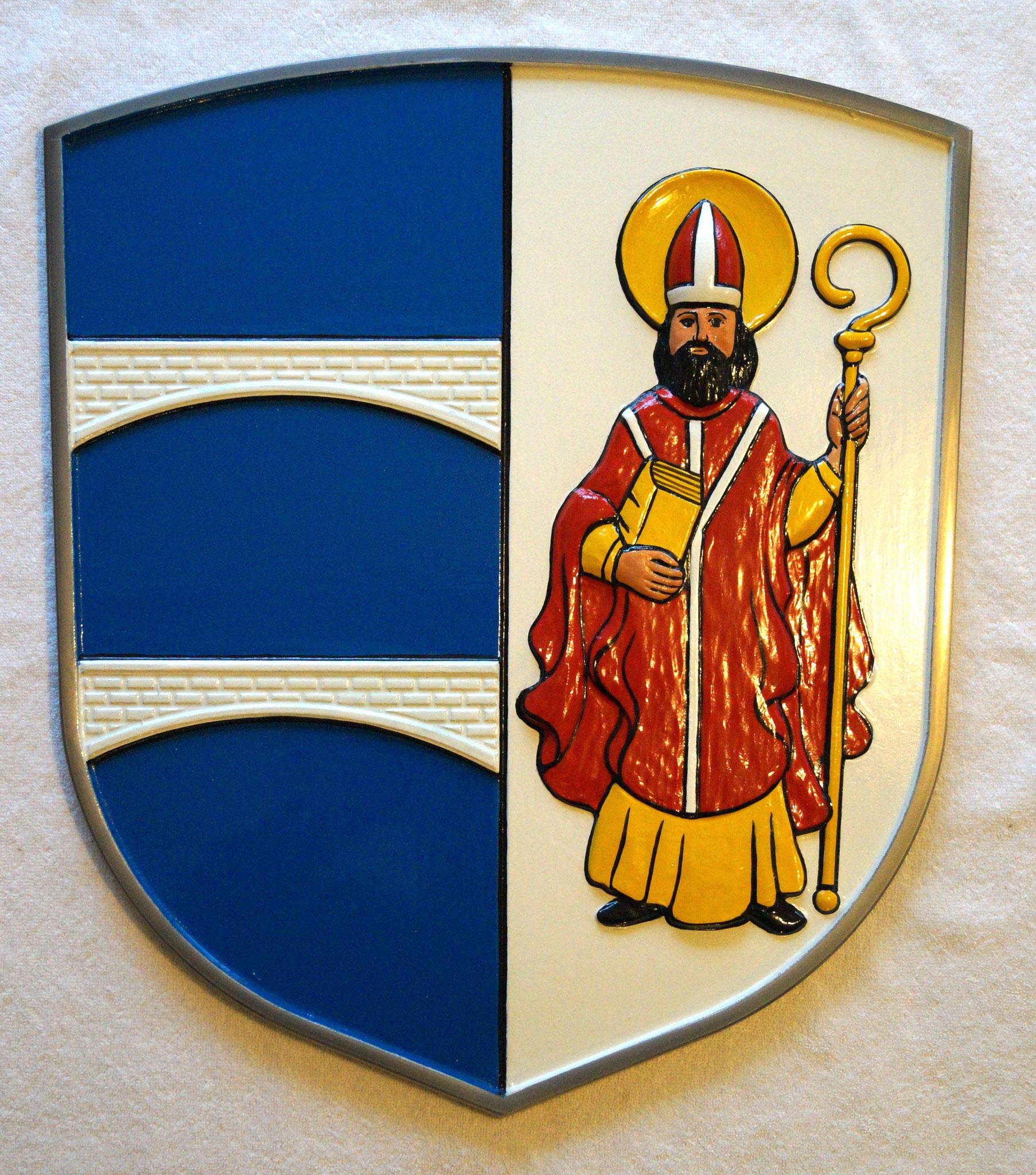 Fertiges Wappen gestrichen