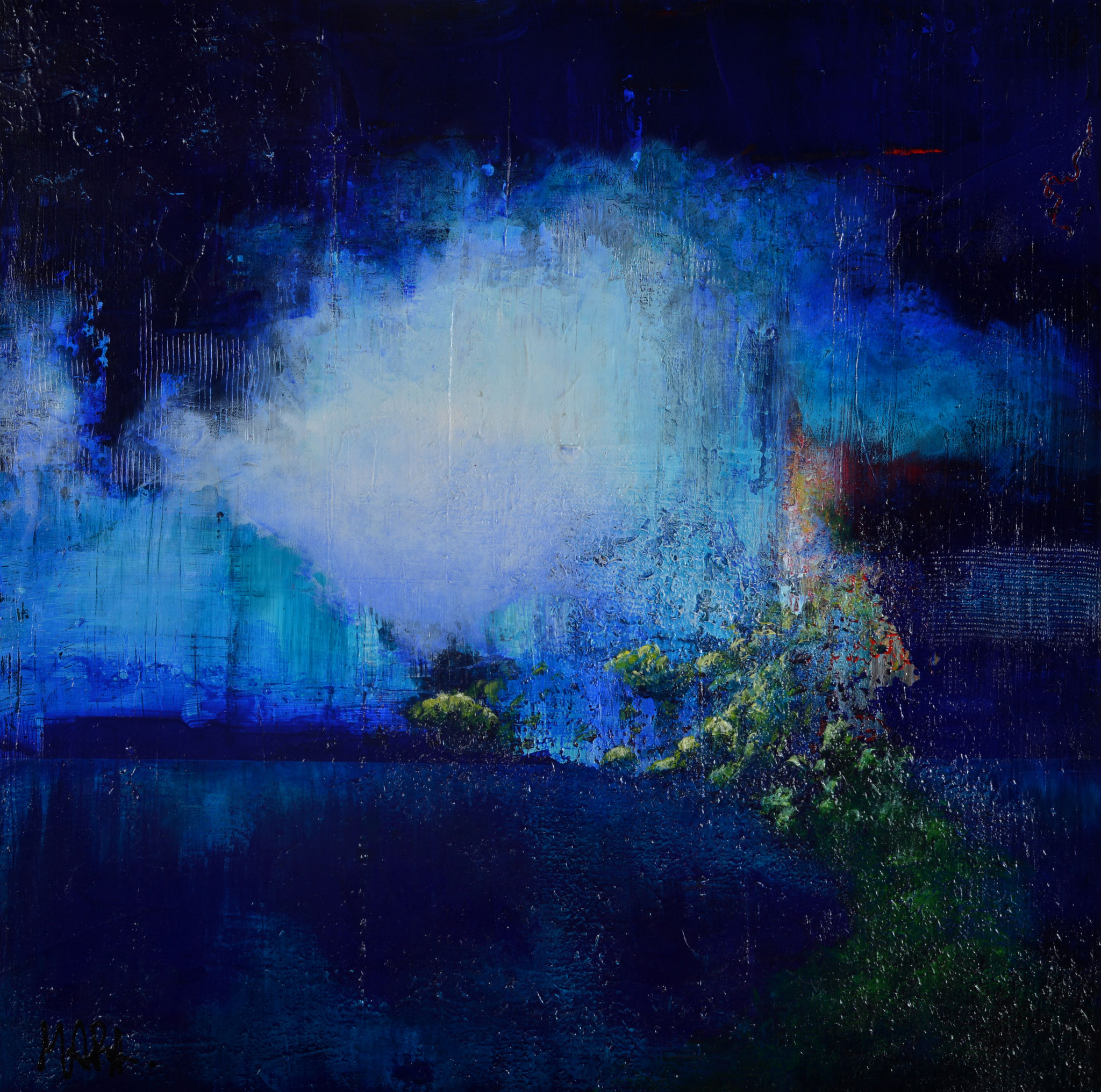 Exaltation - 60x60 cm - sold