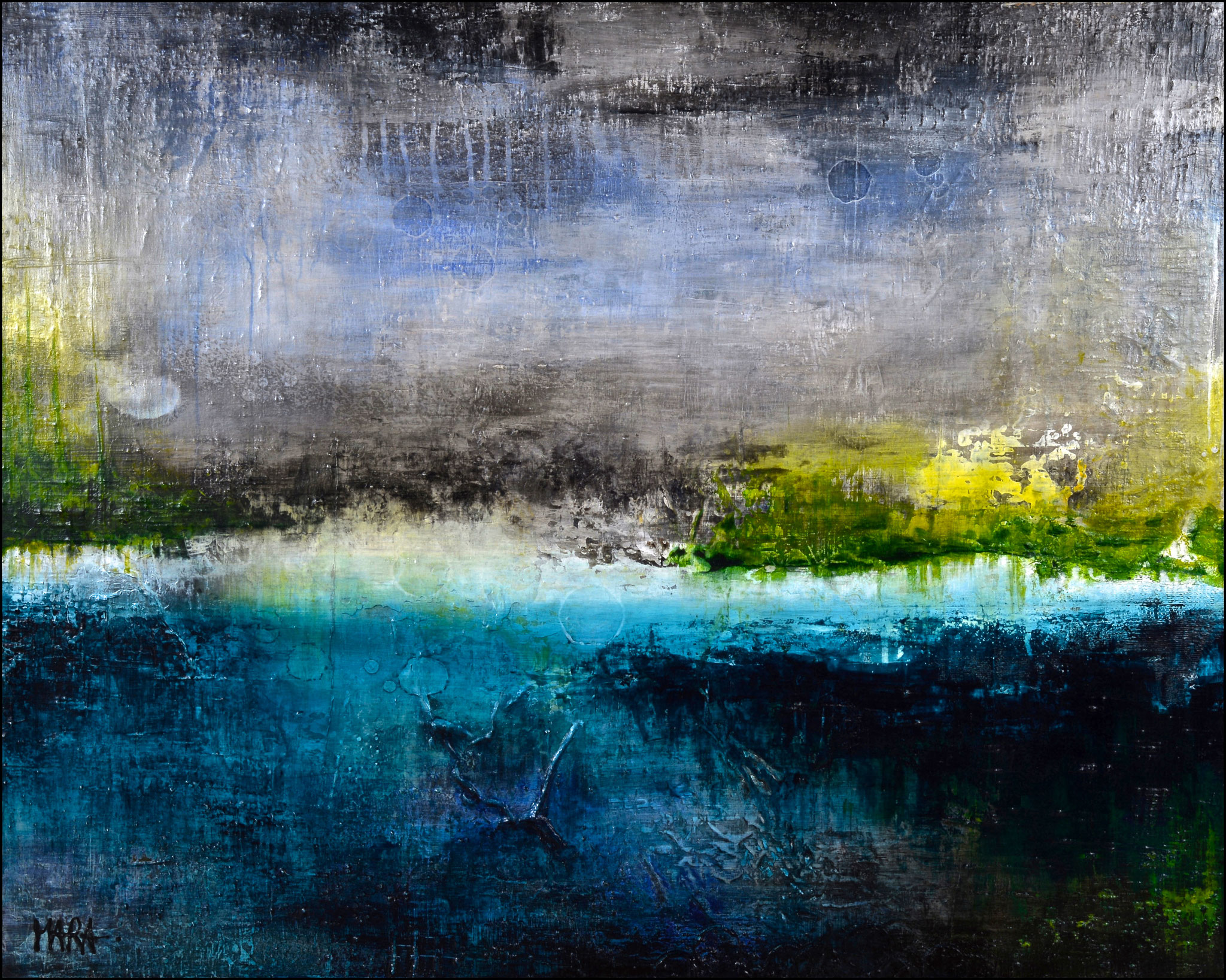 Clearness - 80x100 cm - sold