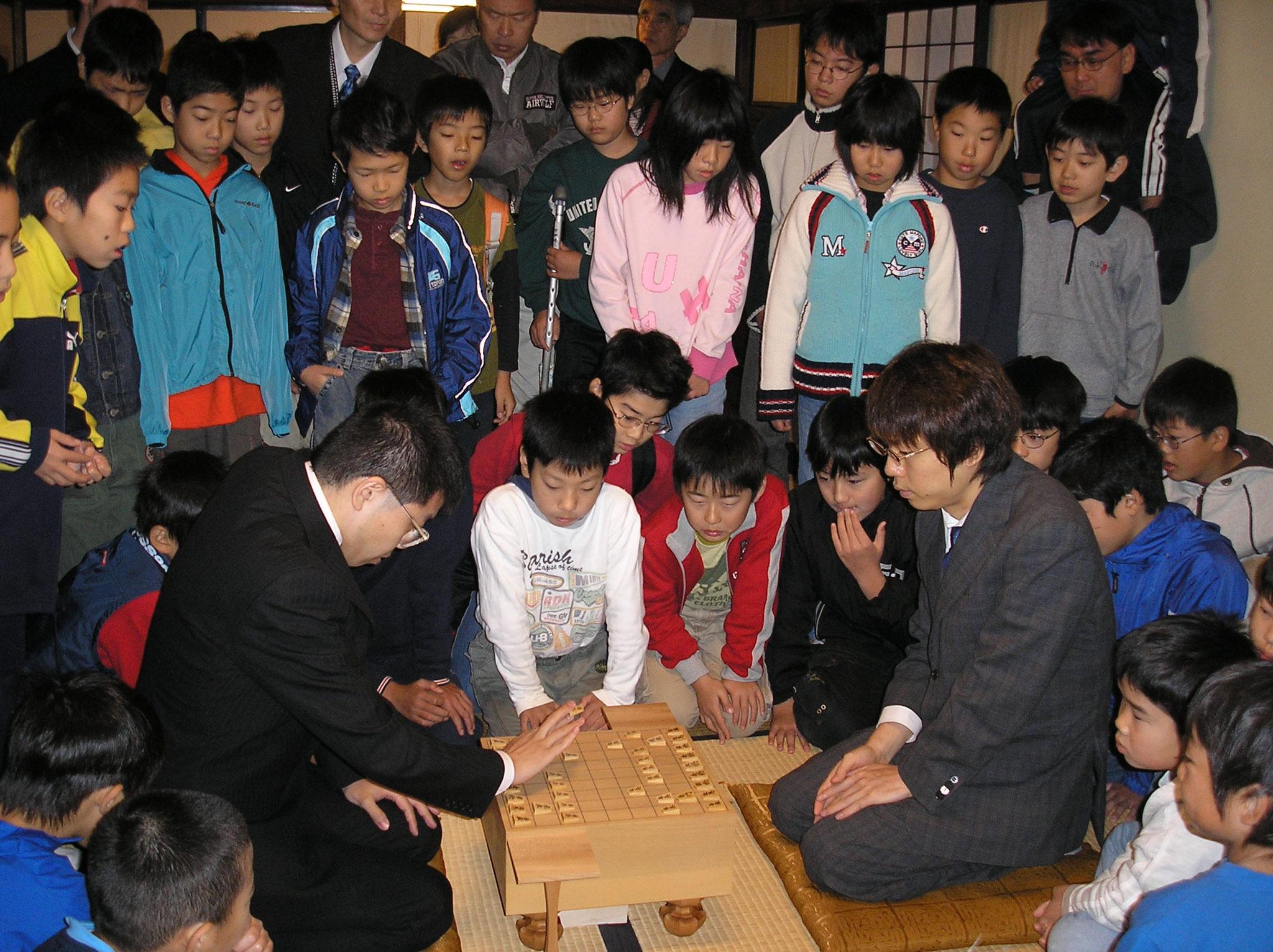 2006年11月 模範対局 勝又先生と