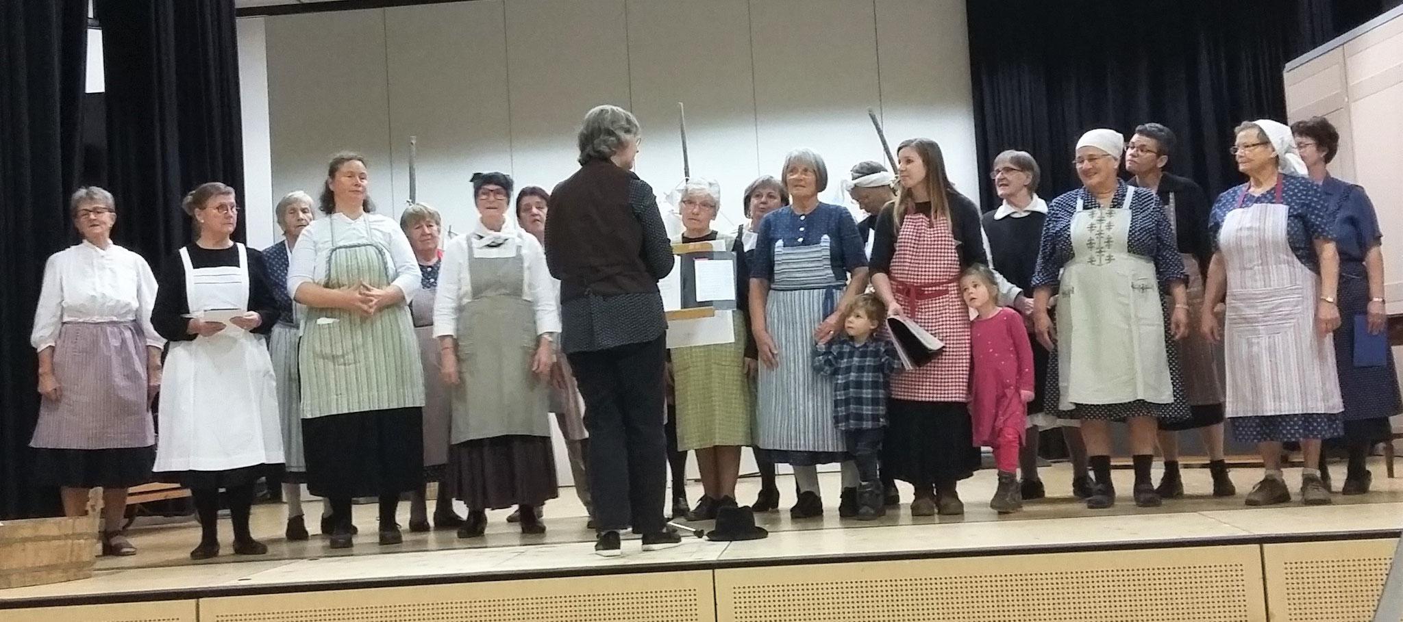 Rückblick auf 100 Jahre Töchter- und Frauenchor Altikon