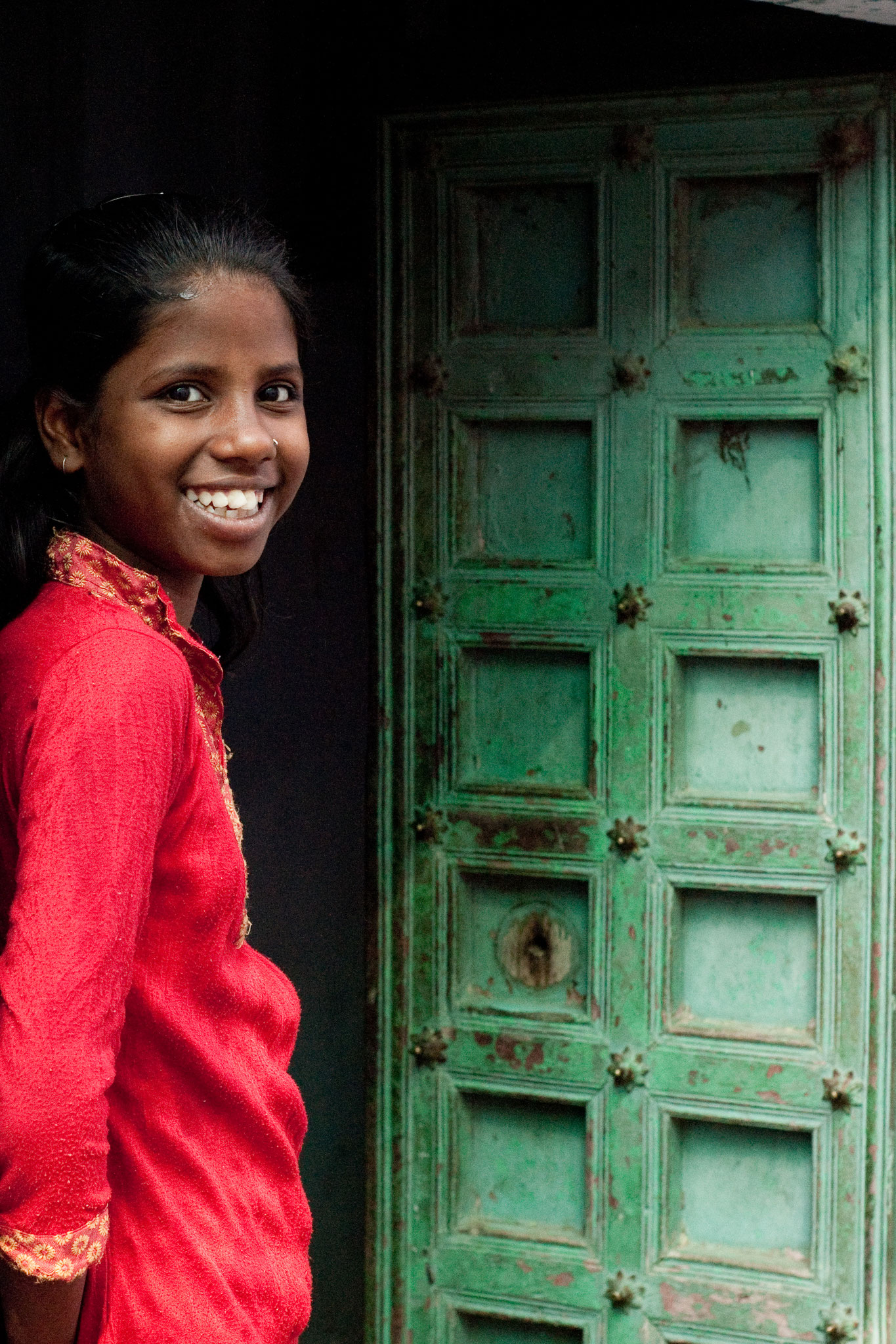 Tirage avec marge blanche (Papier 23x33 cm - Photographie 19,5x29,5cm) - Inde