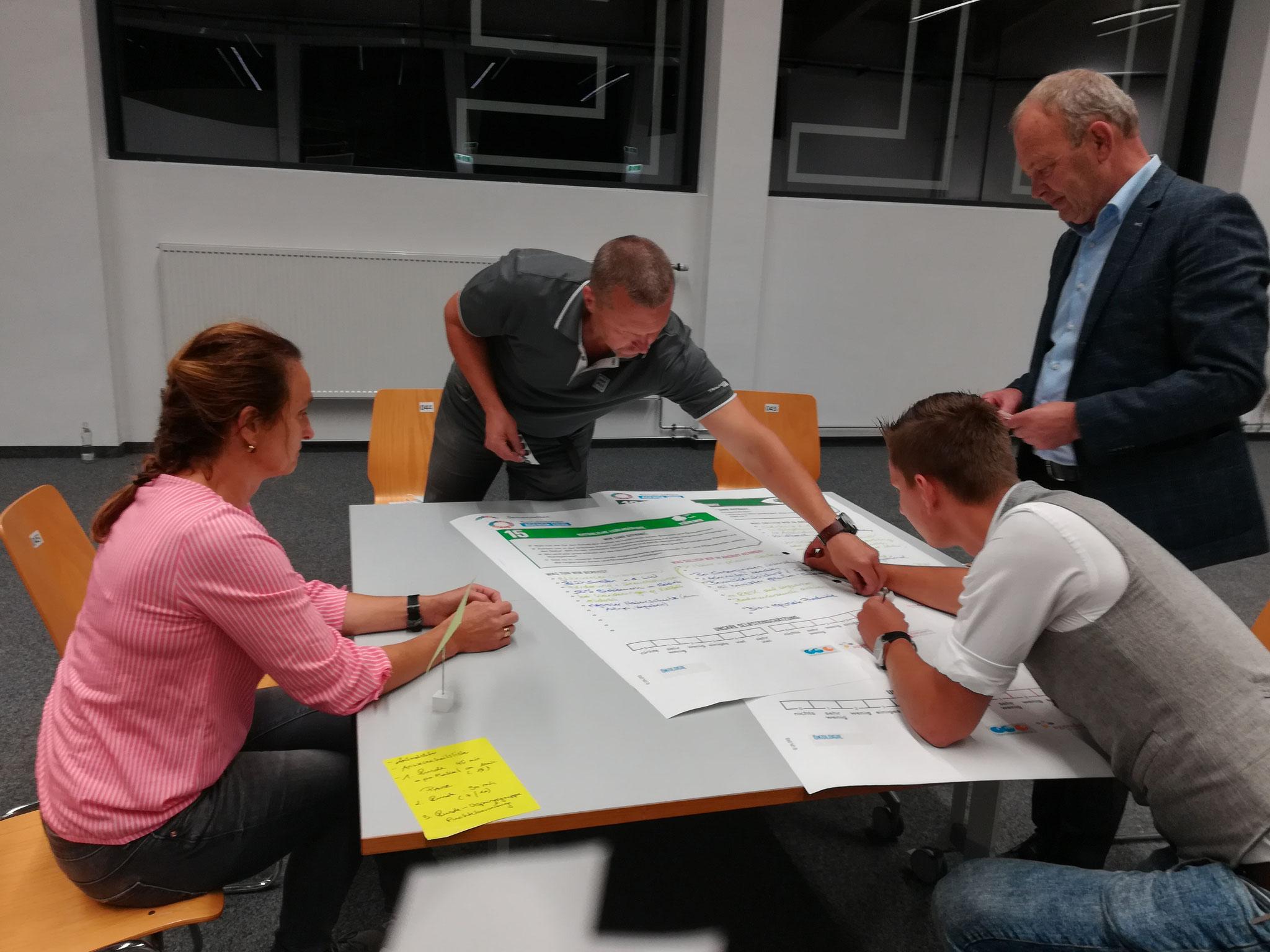Bürger-Navi Altenmarkt Gruppenarbeit
