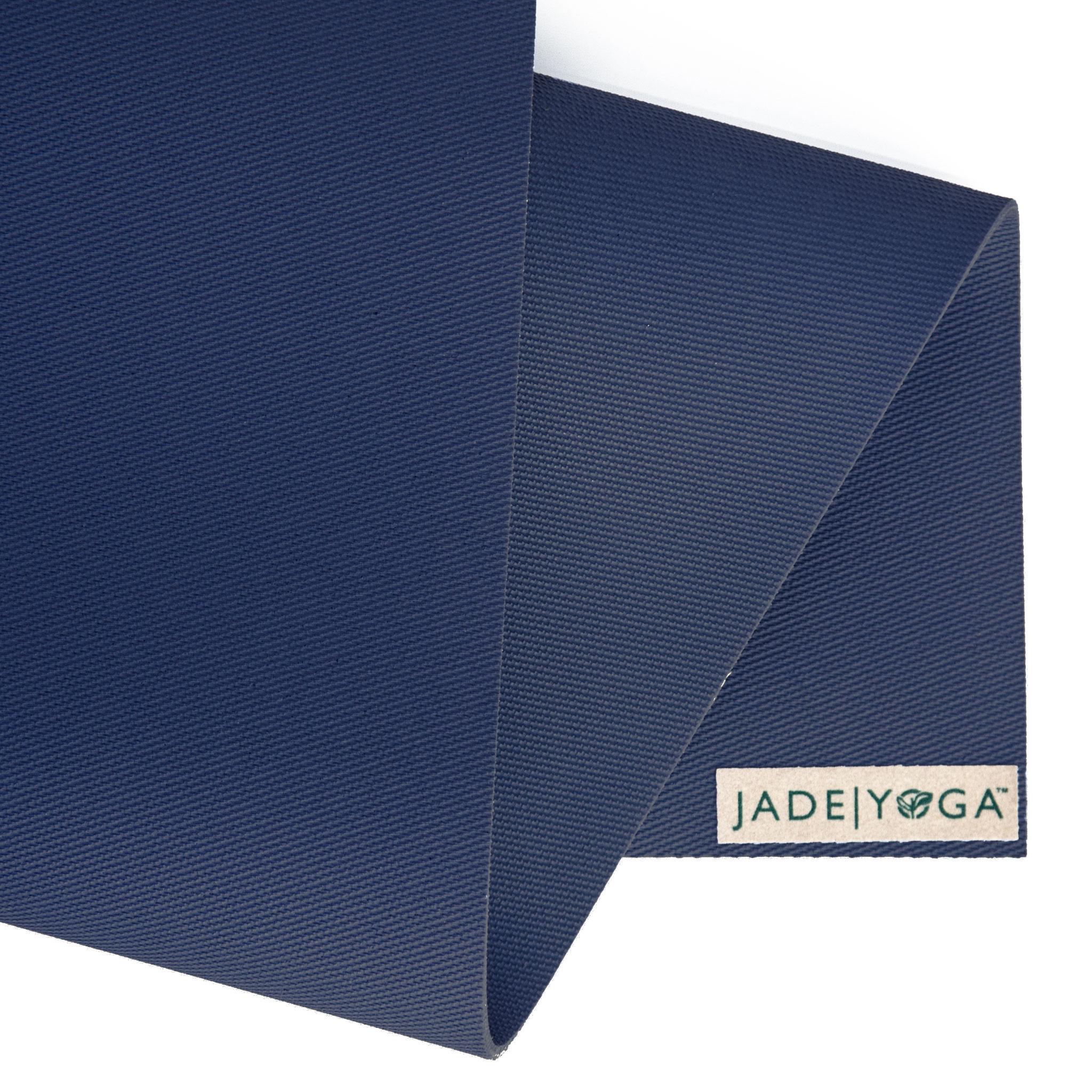 Die unter Yogi(ni)s beliebte Jade-Harmony-Matte. Super rutschfest und in der Farbe midnight-blue.