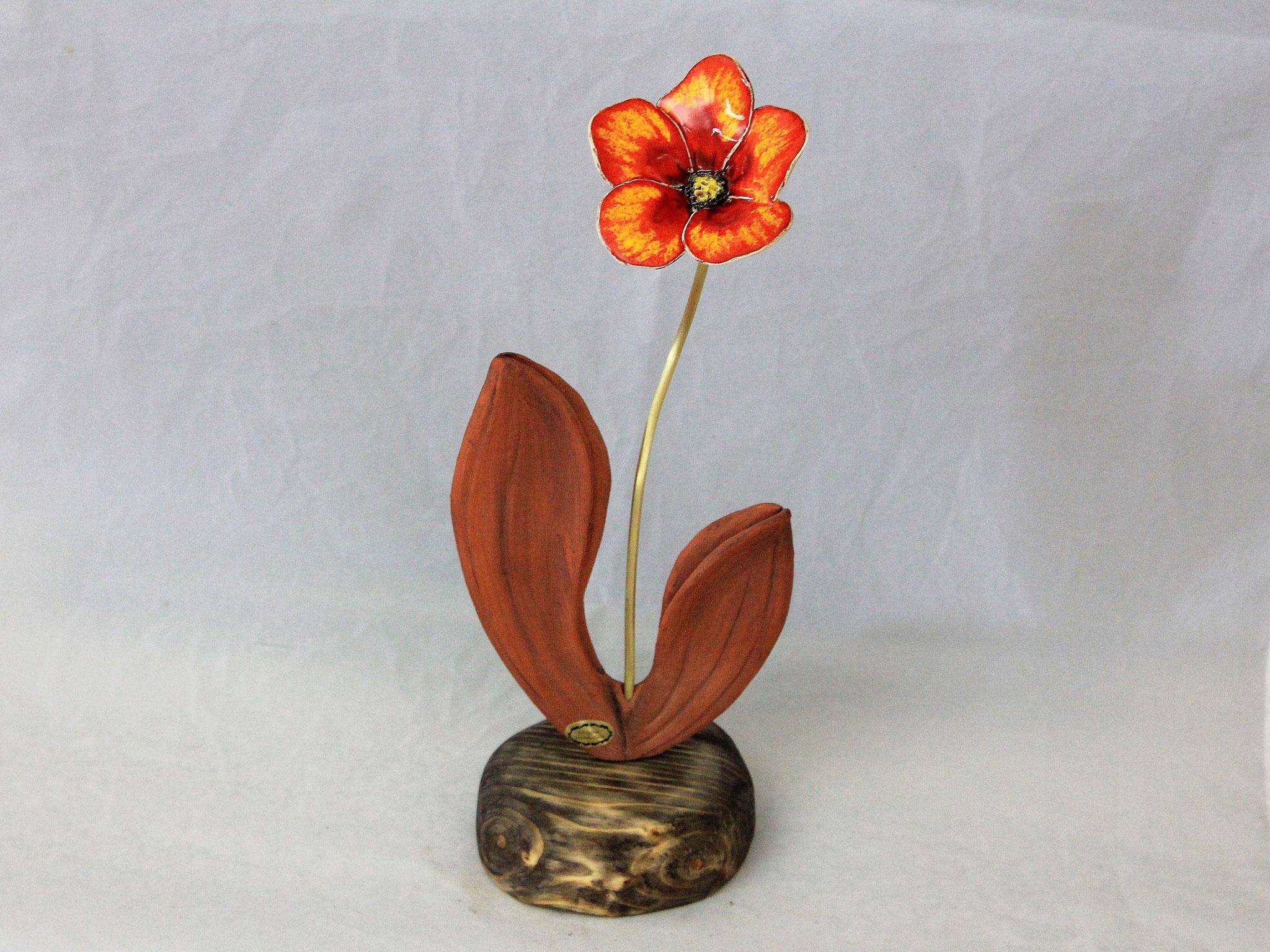 Skulptur, Blume,Blumenarrangement, Akzente, Blüten, Wohndekor