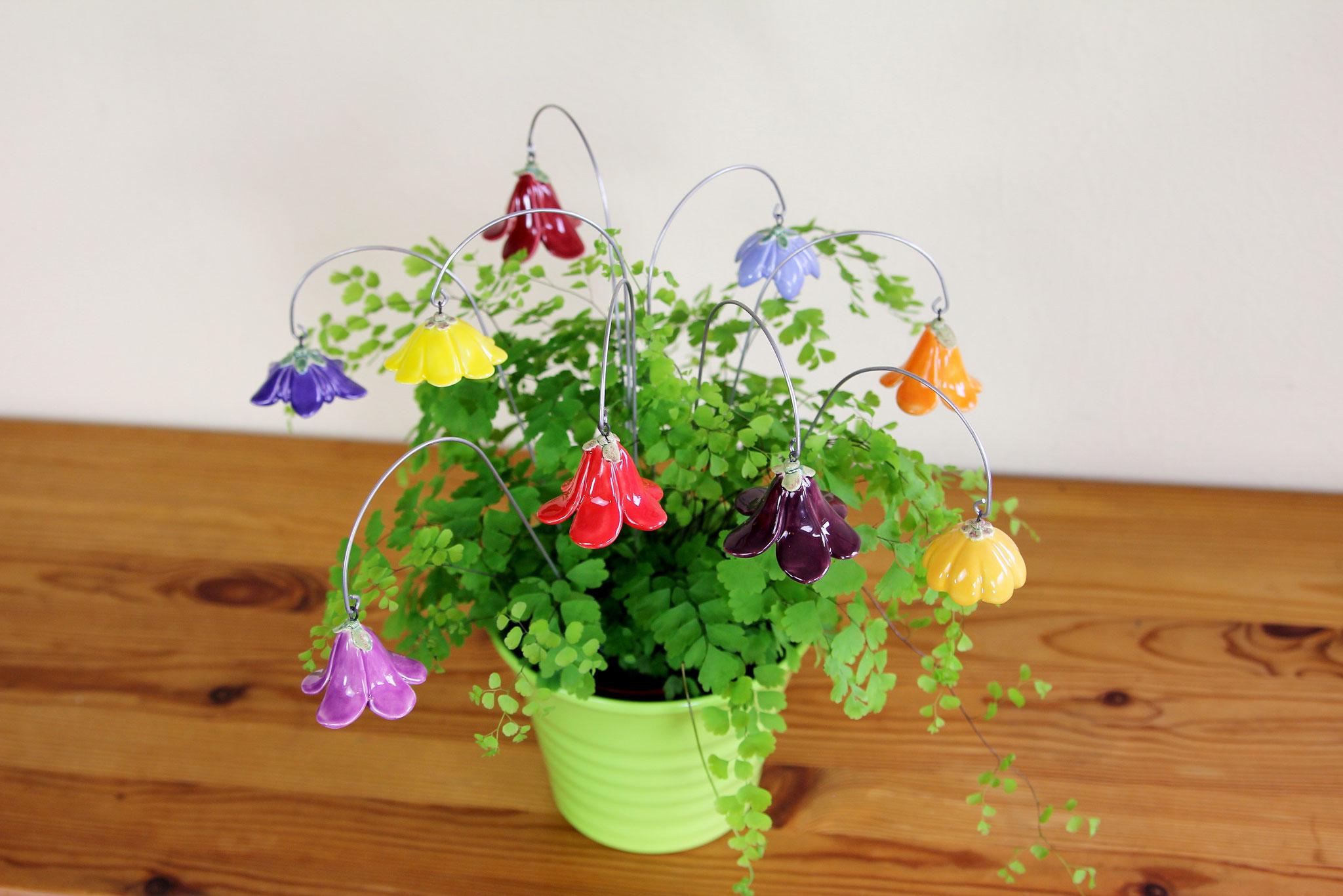 Blumenstrauß, Glockenblumen