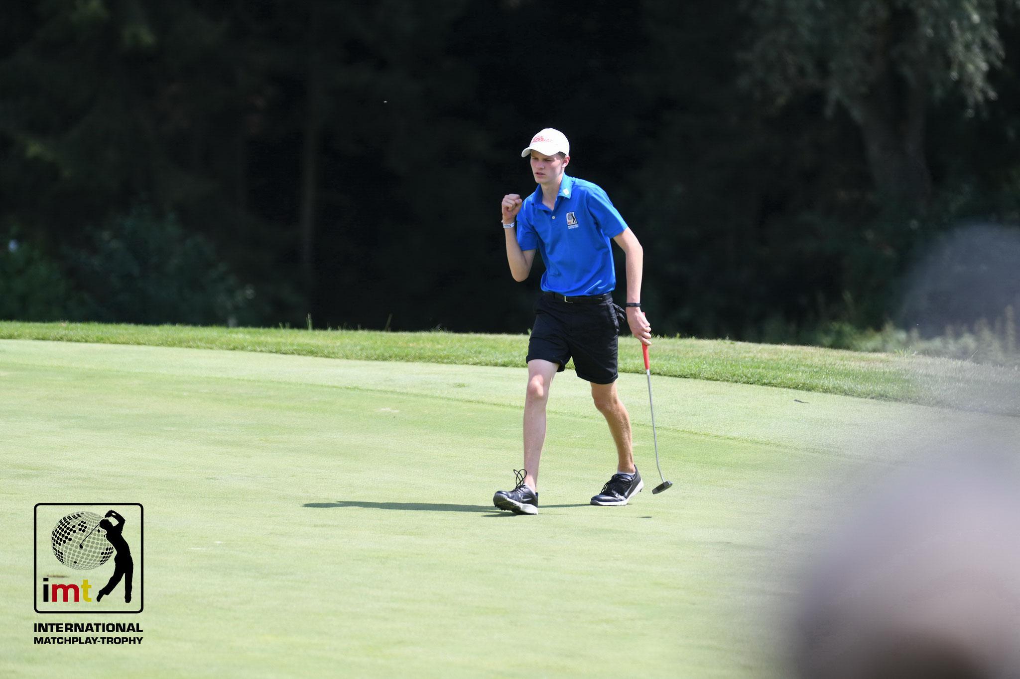 Jeremy Hülsey führt die Meldeliste der Jungen mit einem Handicap von +1,3 an - © Frank Föhlinger | golfmomente.de