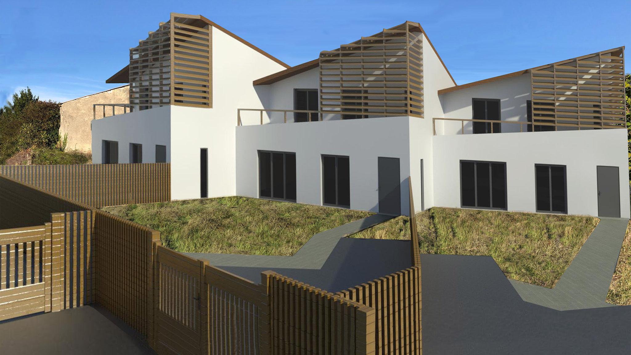 Projet de logement collectif en cours d'étude !