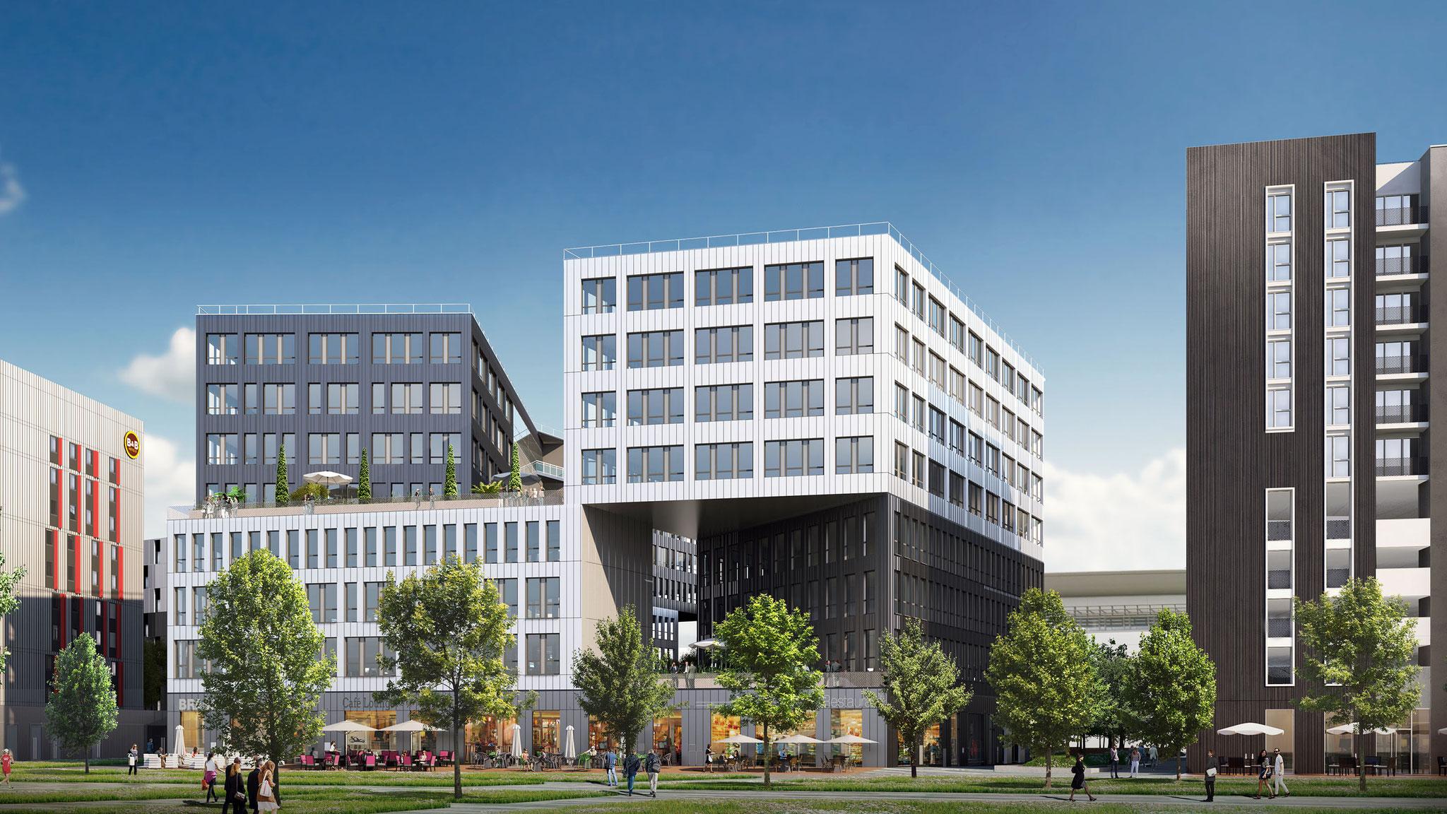 Aménagement de bureaux dans la ZAC St Jean Belcier à Bordeaux livré en 2018 !