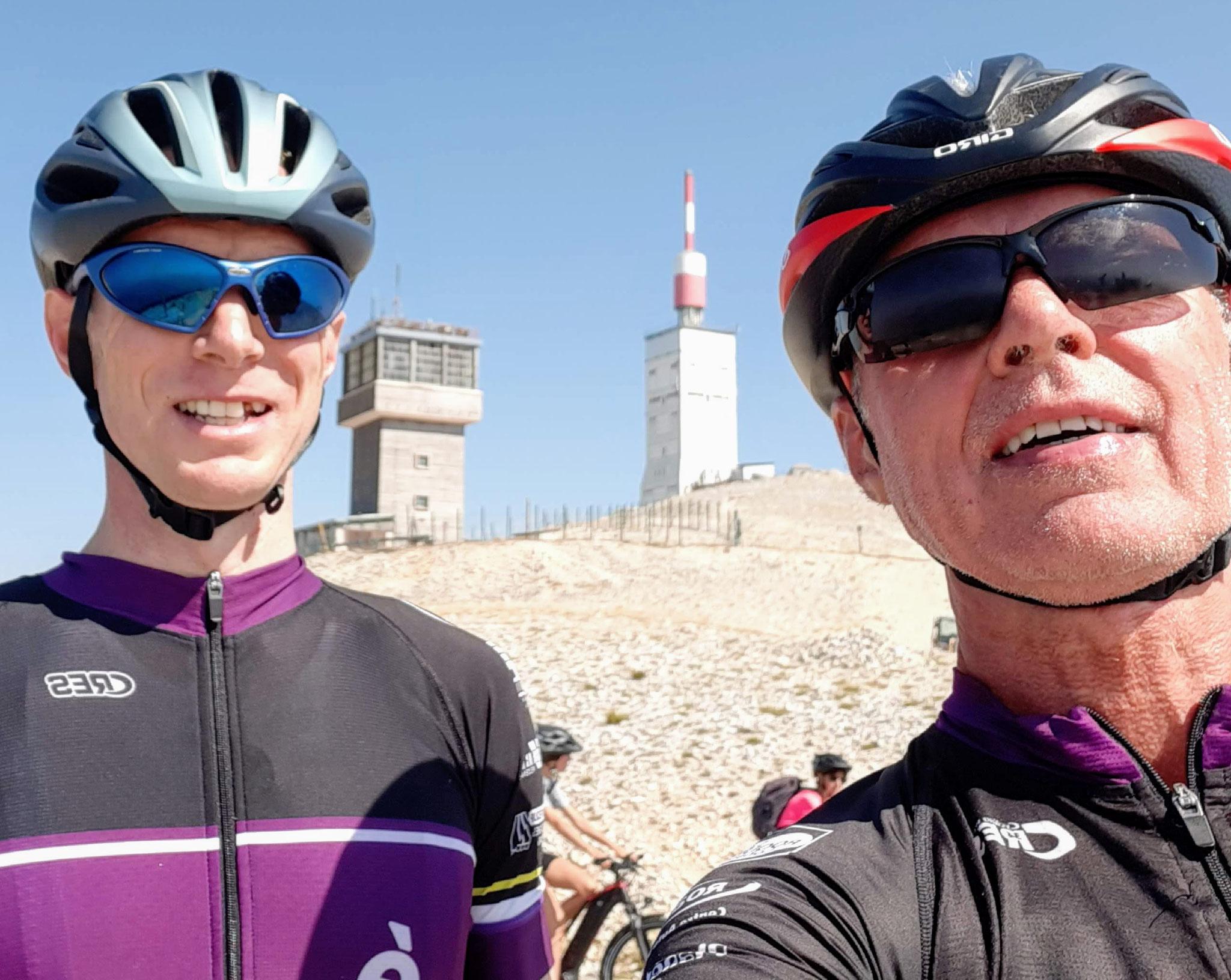 Philip et John : Sortie au Mont Ventoux