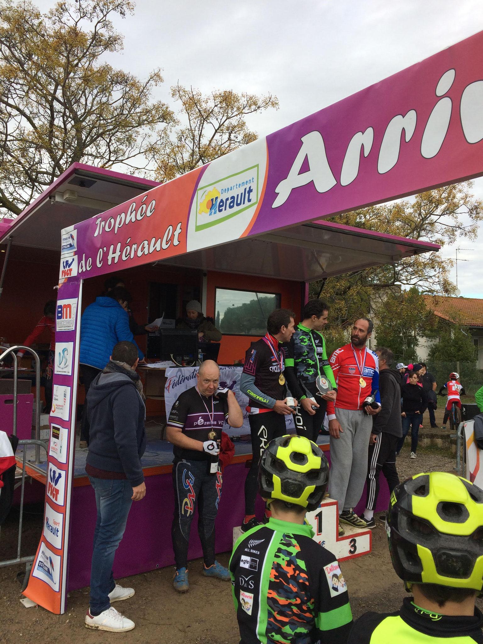 Cyclo-cross de Montflourès à Béziers (3ème manche du Trophée de l'Hérault)