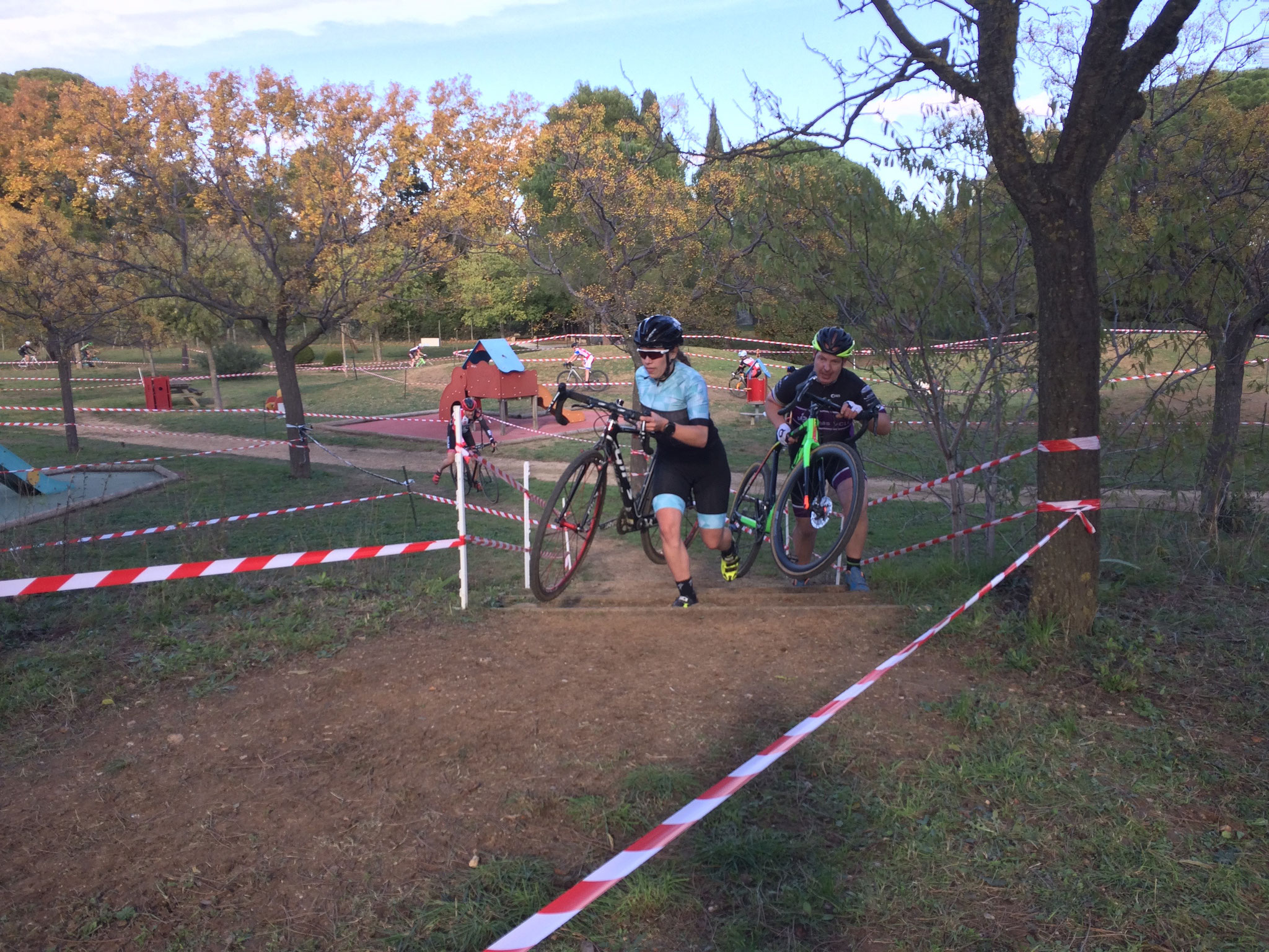 Cyclo-Cross de Montflourès.