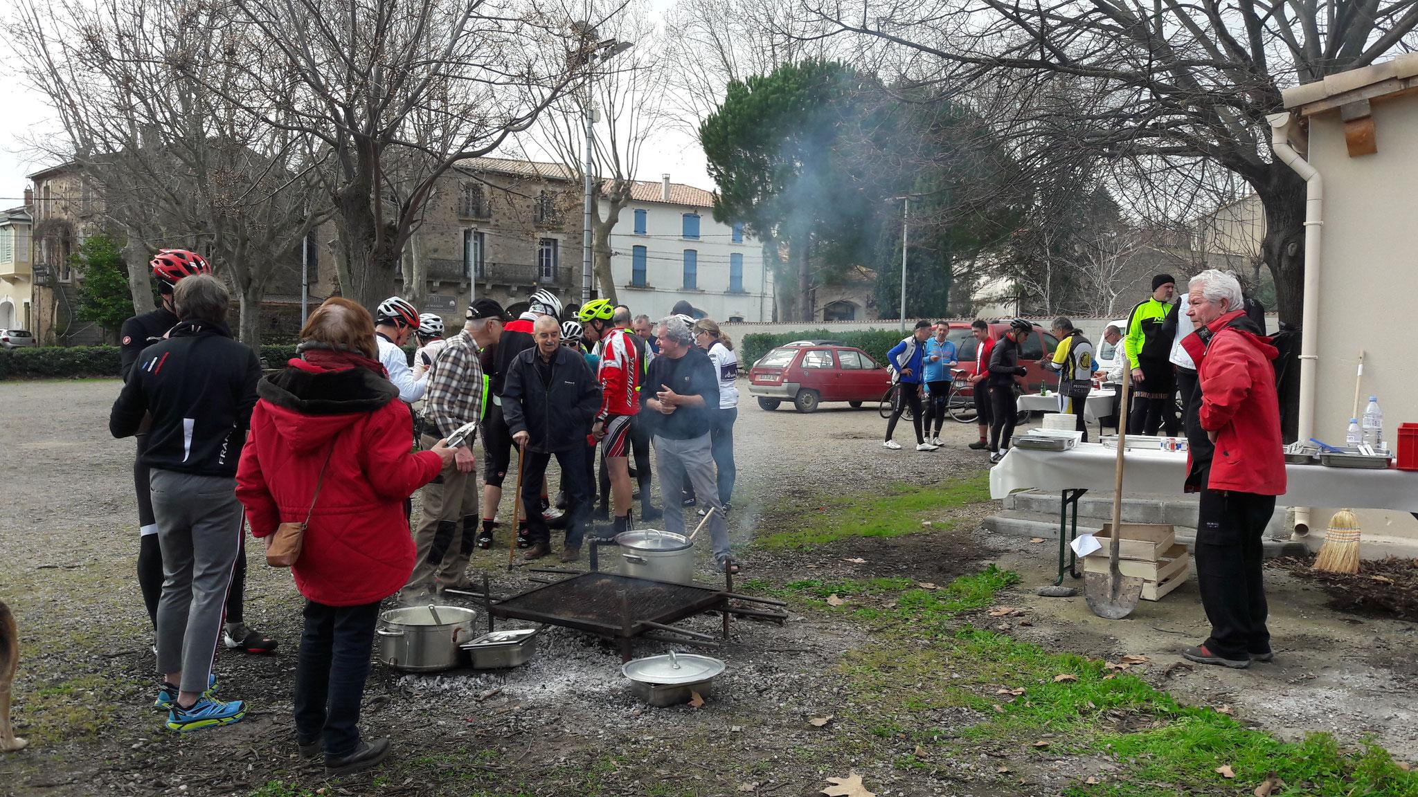 "(20.02.09) ""Aligot-grillade"" à Tourbes"