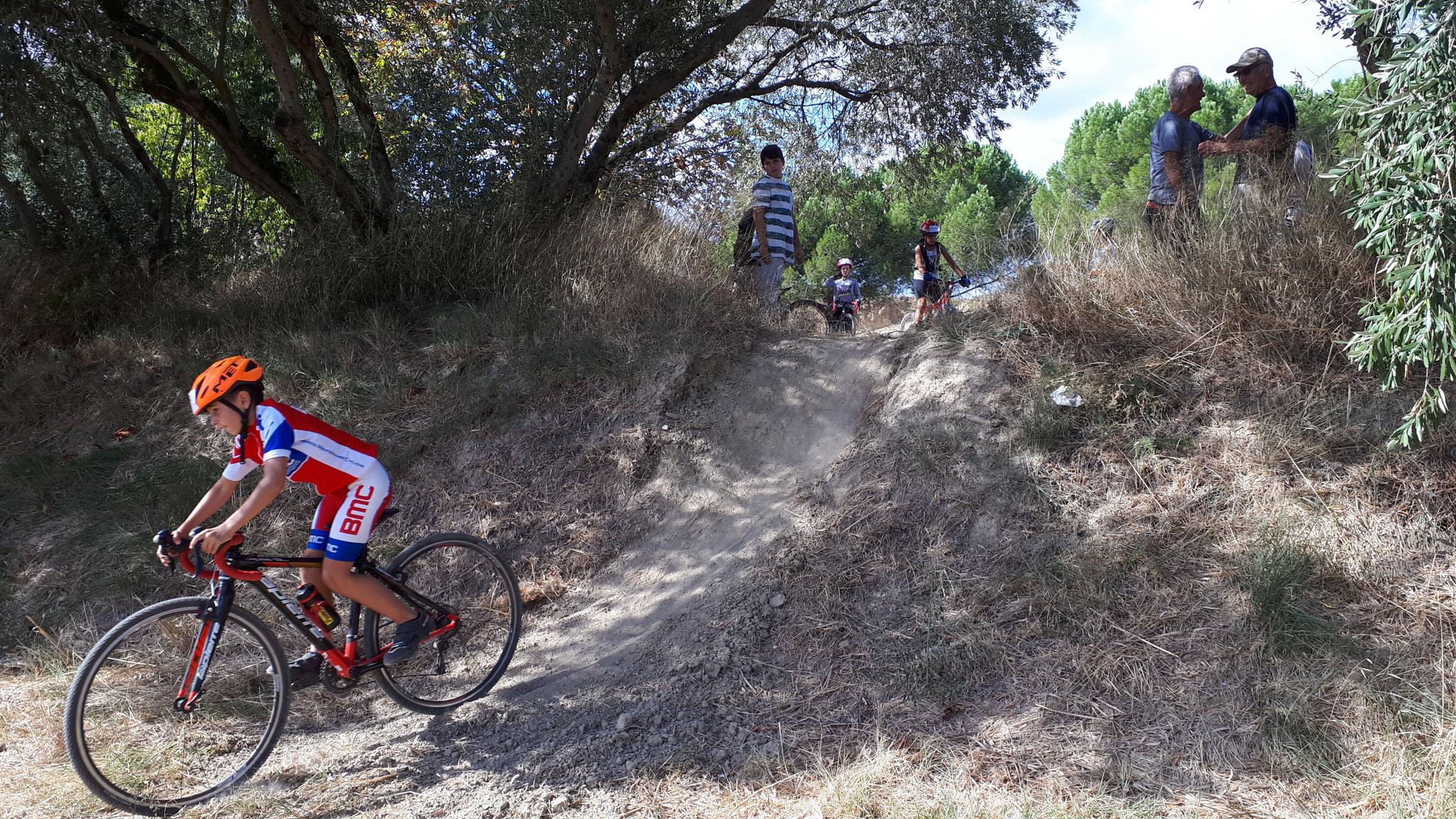 26.09.18 : 1er cours de l'Ecole de cyclisme.