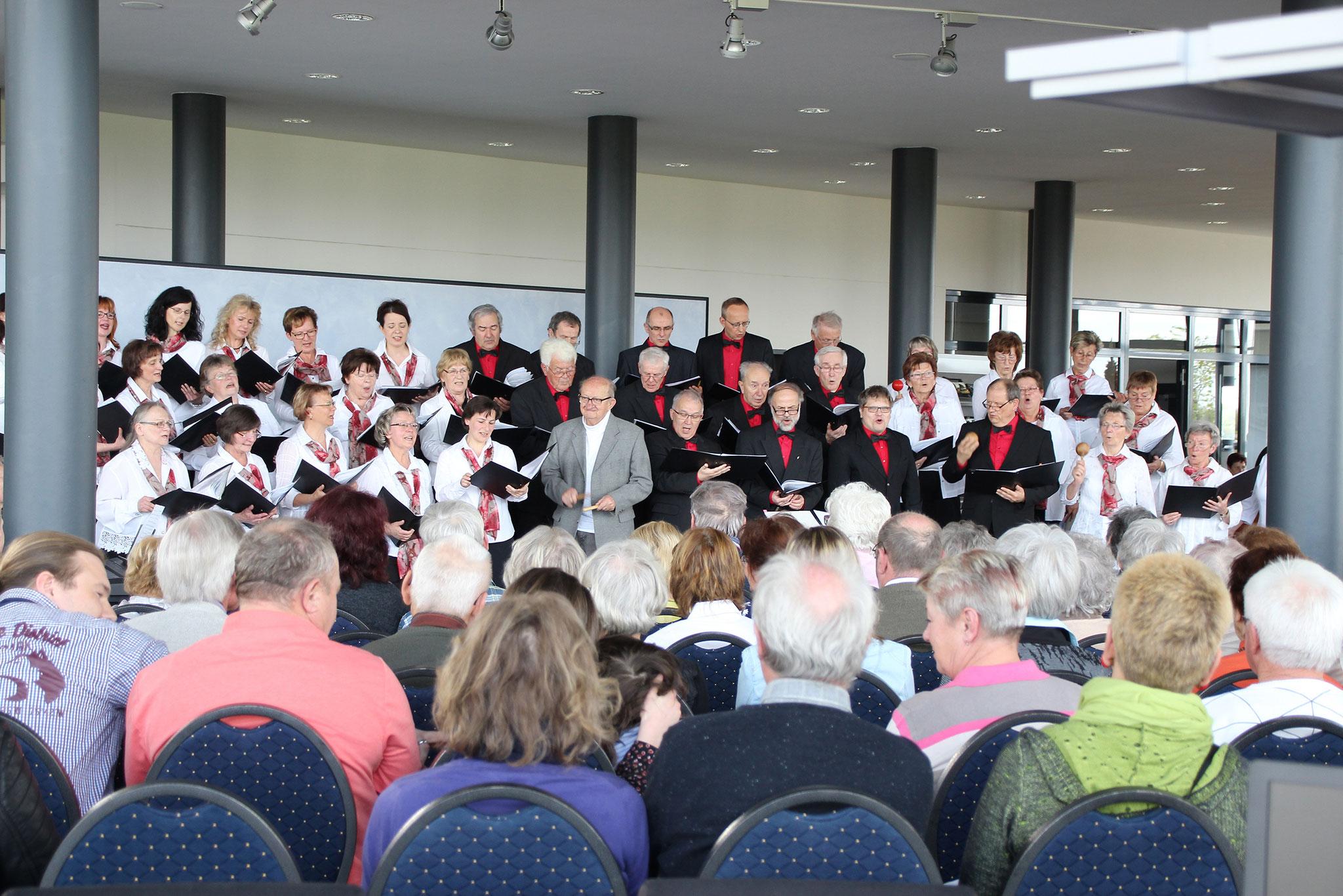 Frühlingskonzert im Autohaus Bruno Widmann in Zeithain 2017