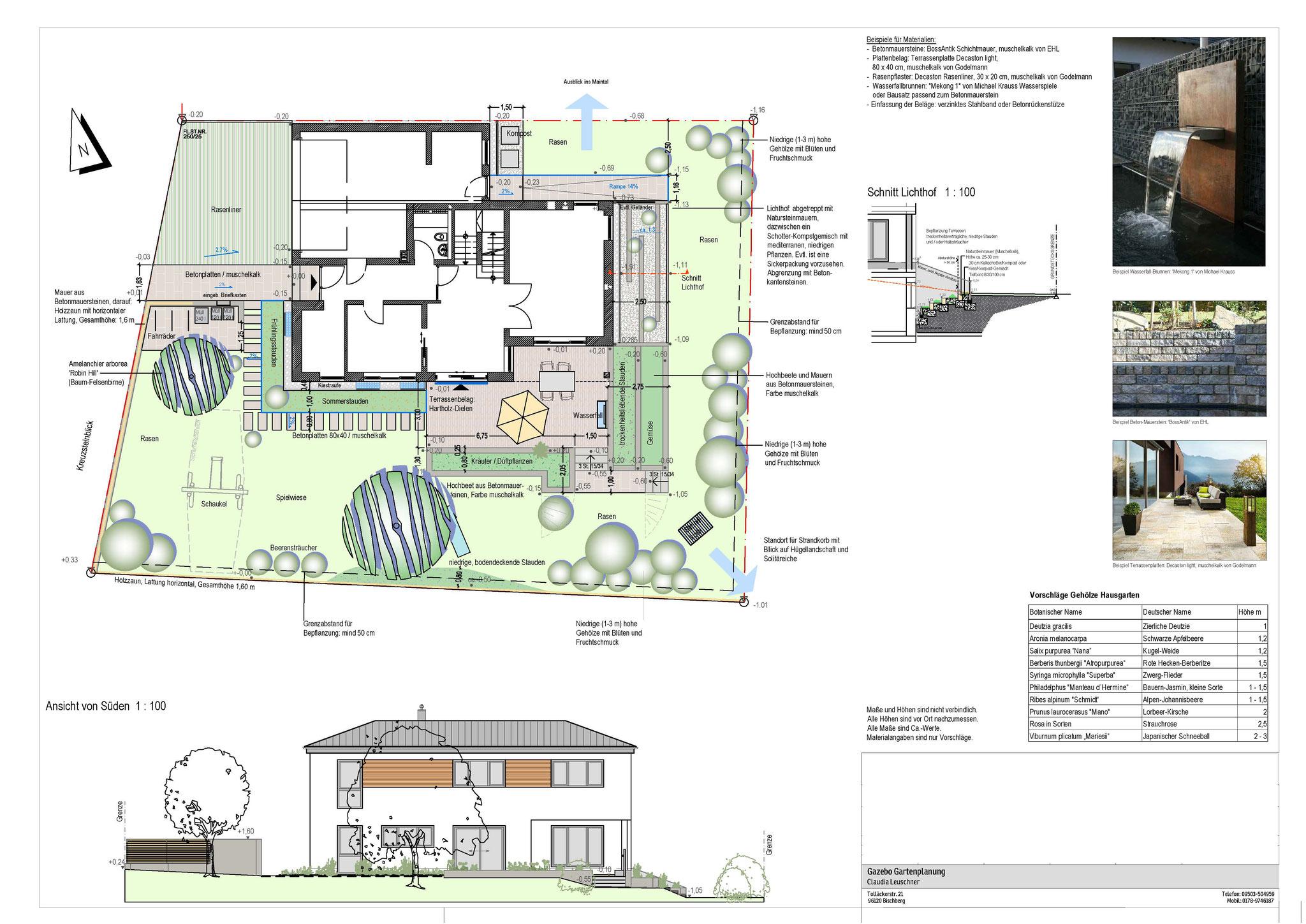 Hausgartenplanung Bischberg
