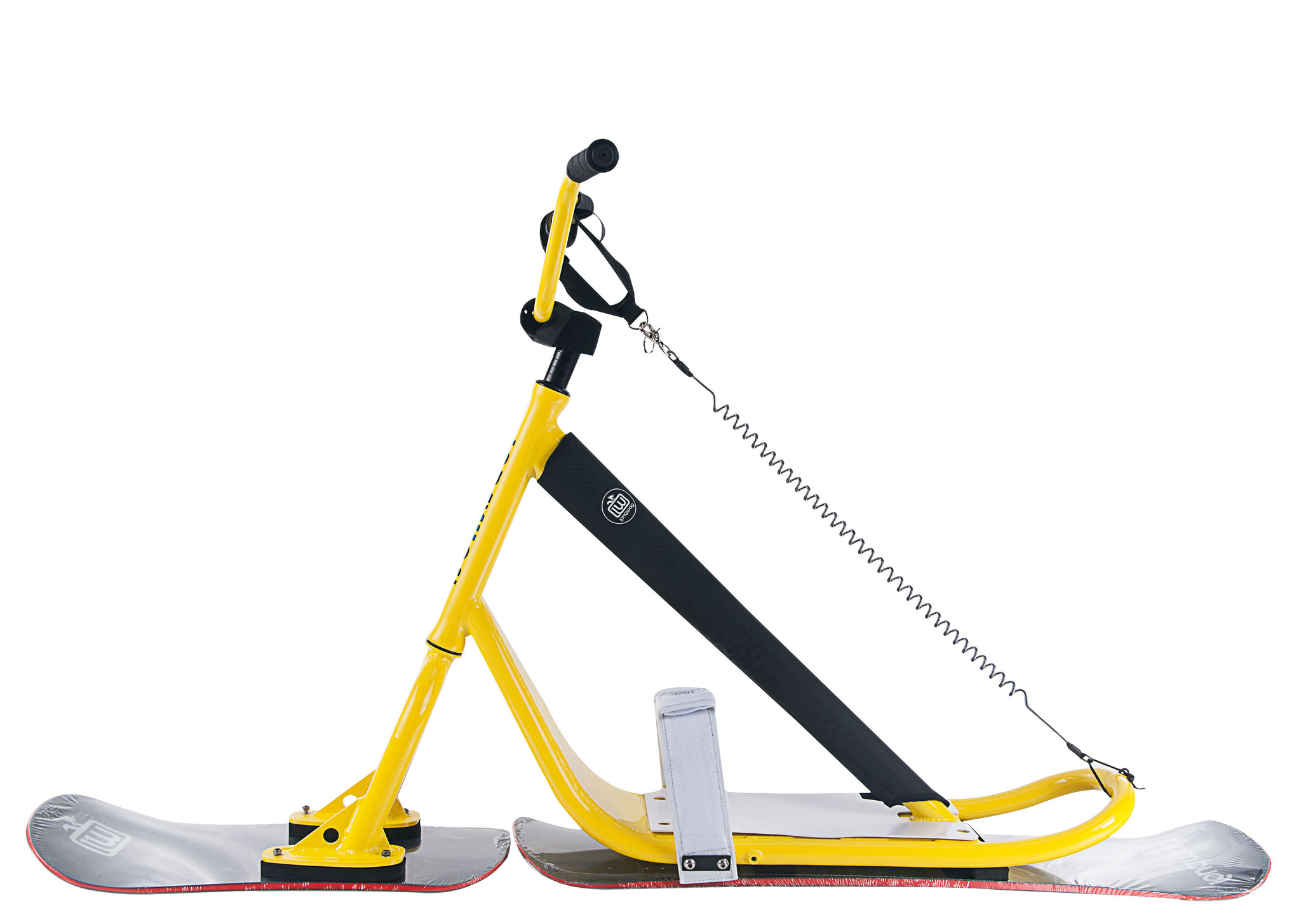 Longway Sports Snowscoot Suilbikes yellow 1