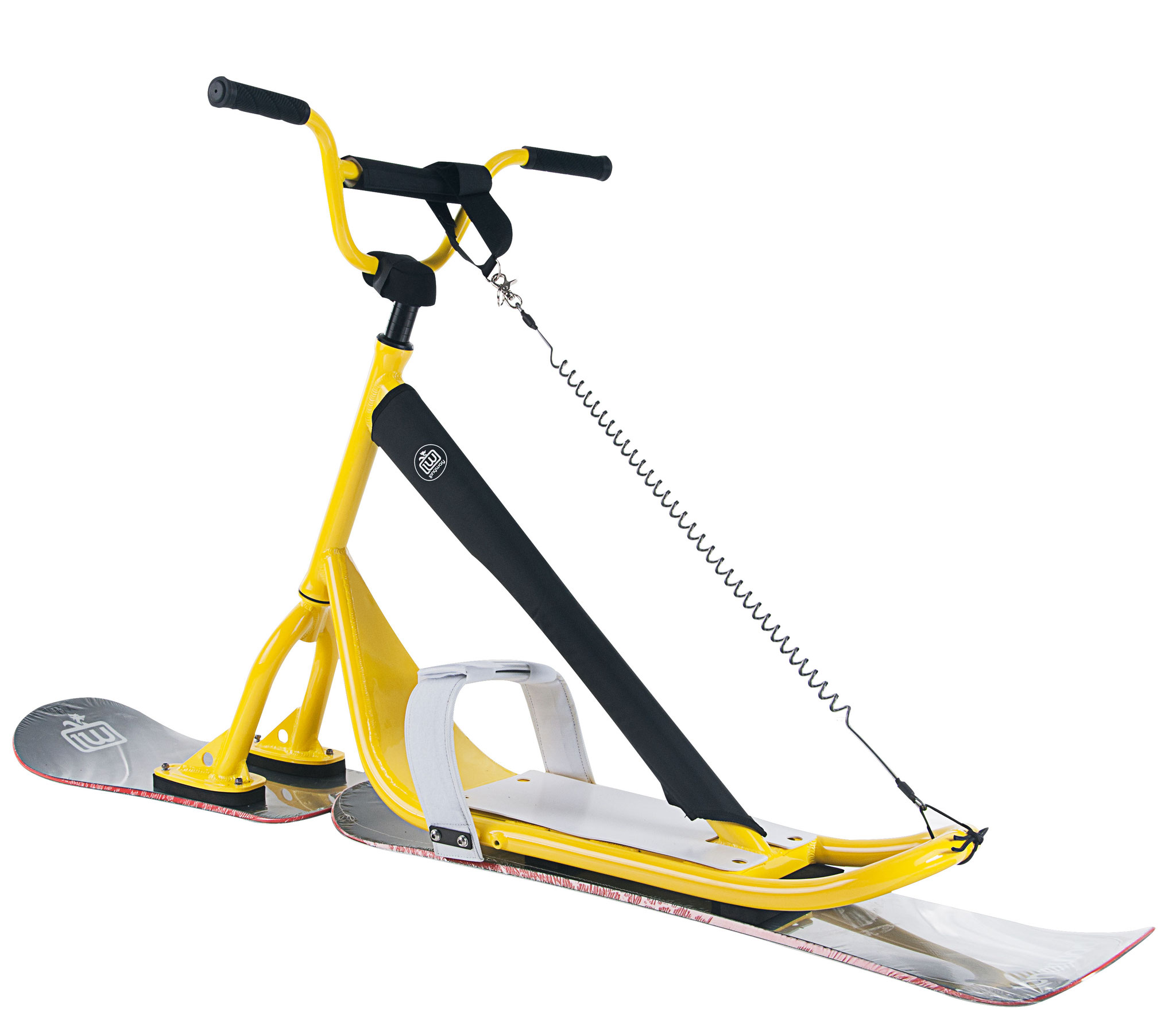 Longway Sports Snowscoot Suilbikes yellow 2