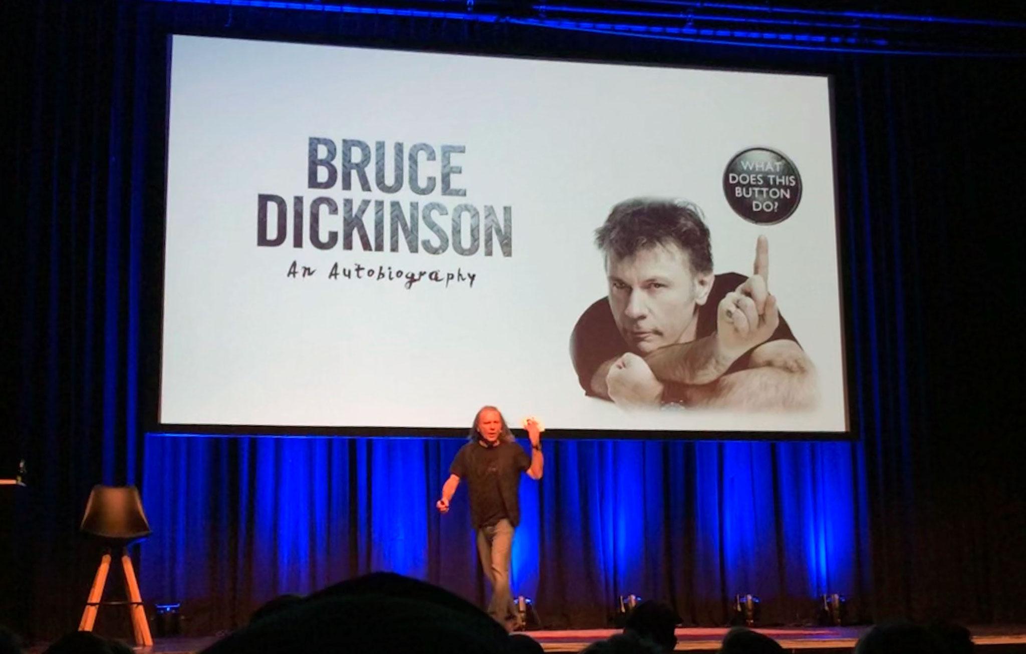 Bruce Dickinson Singer