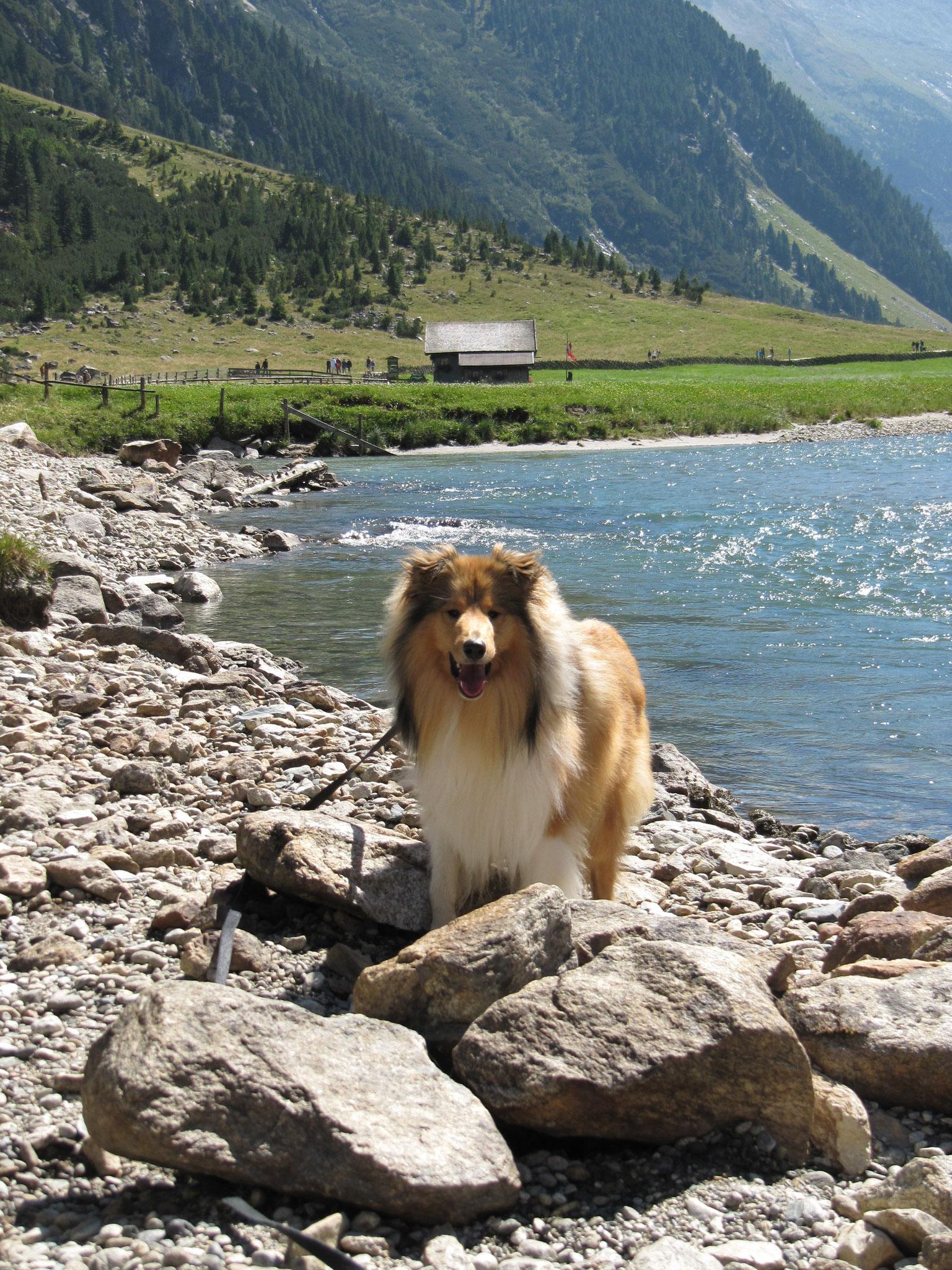 Hier gibt es ja tolle Flüsse und Berge