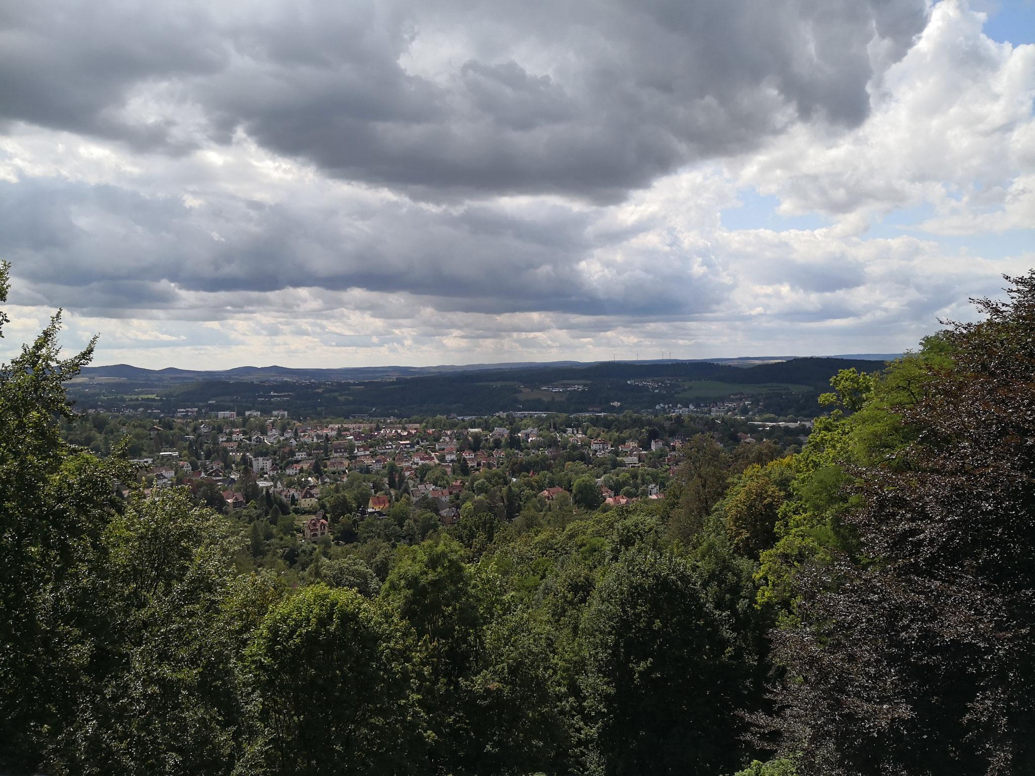 Ausblick von der Veste
