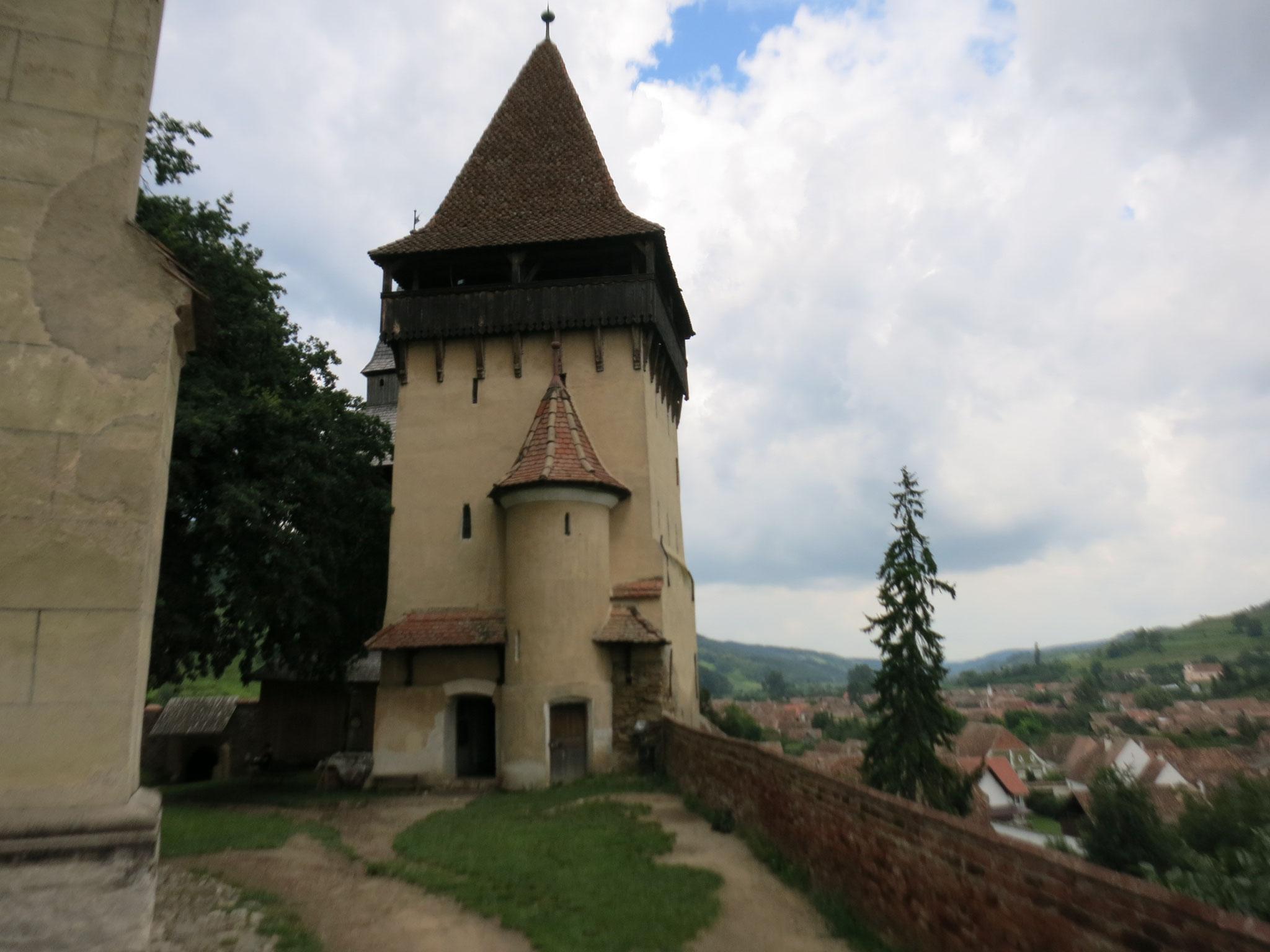 Torres de la iglesia de Biertan
