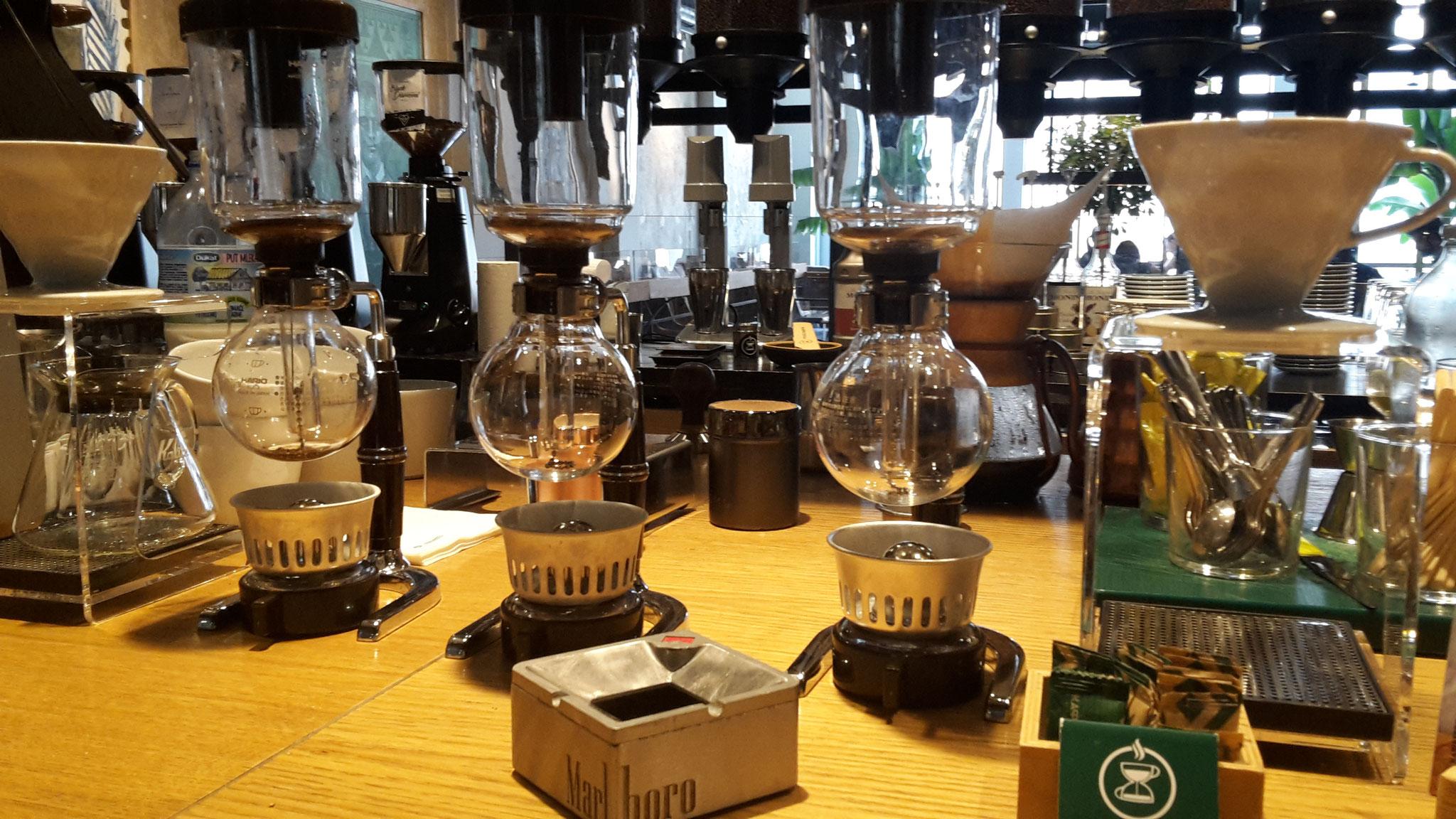 nuevas (viejas) formas de preparar café