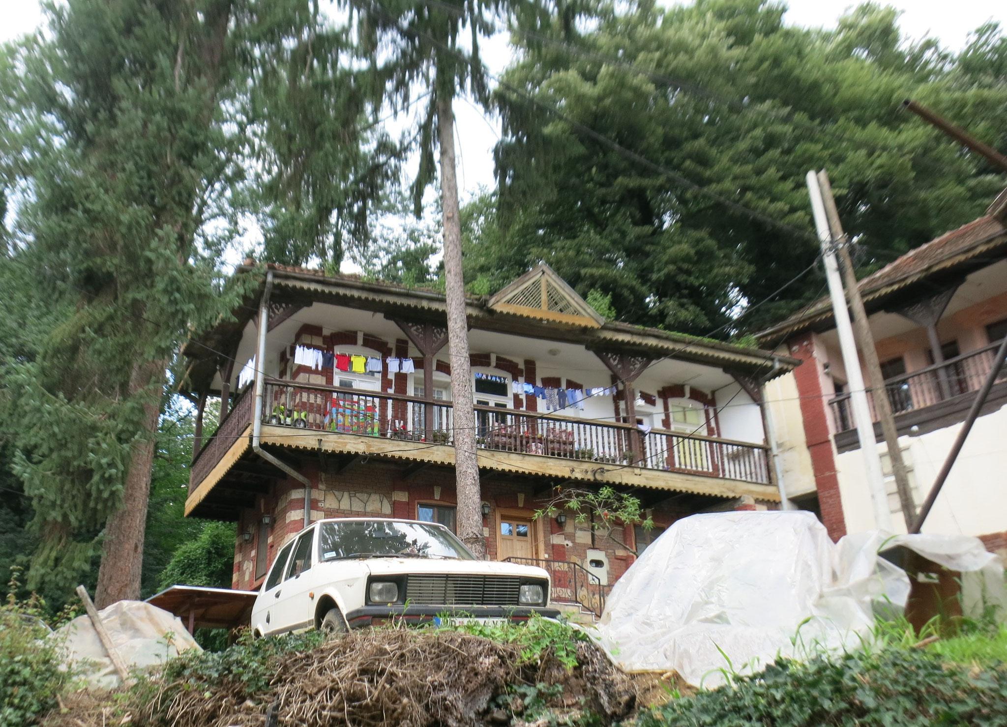 Casa típica de la región, sigue habitada.