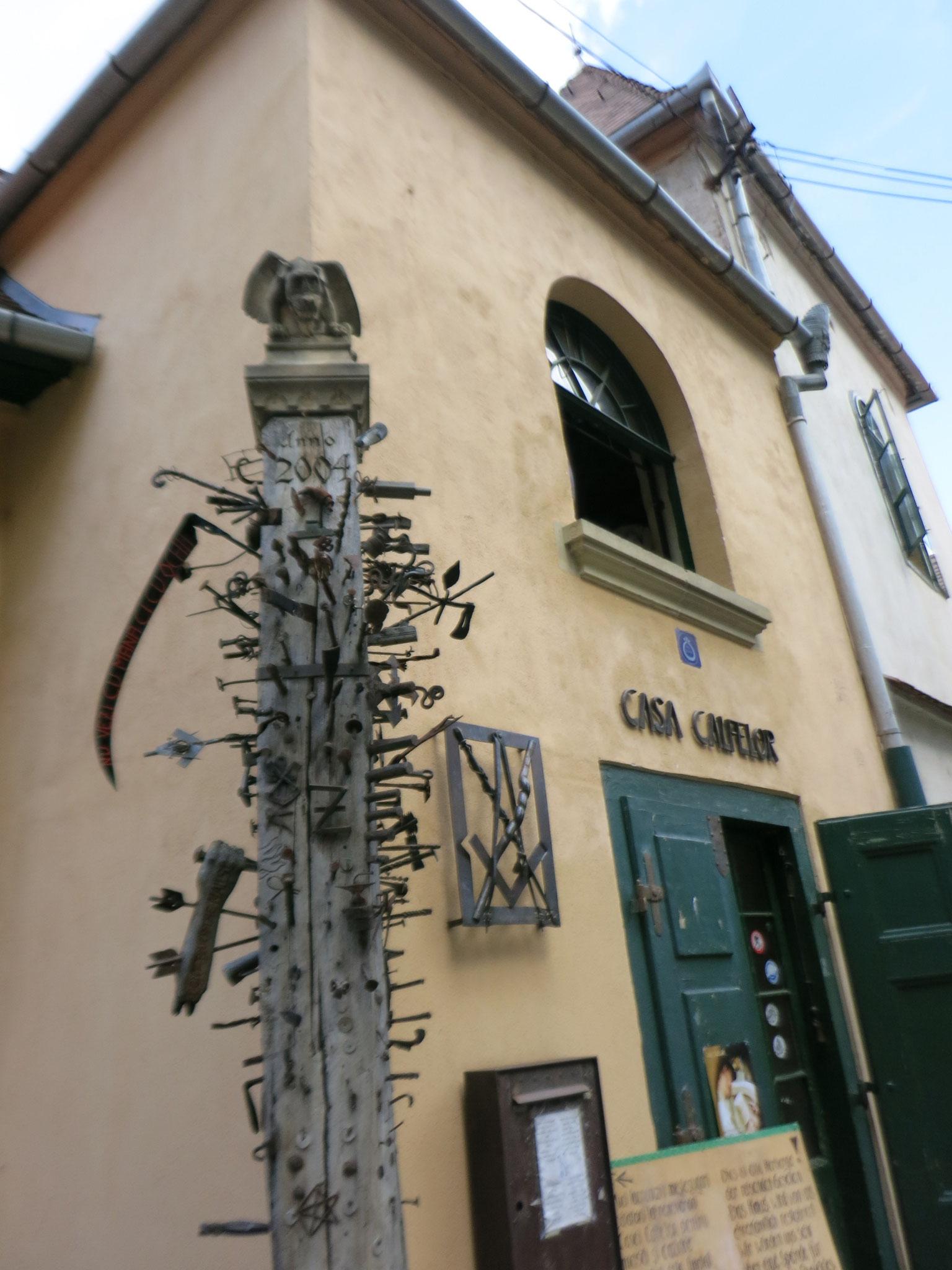 el albergue donde viven en Sibiu