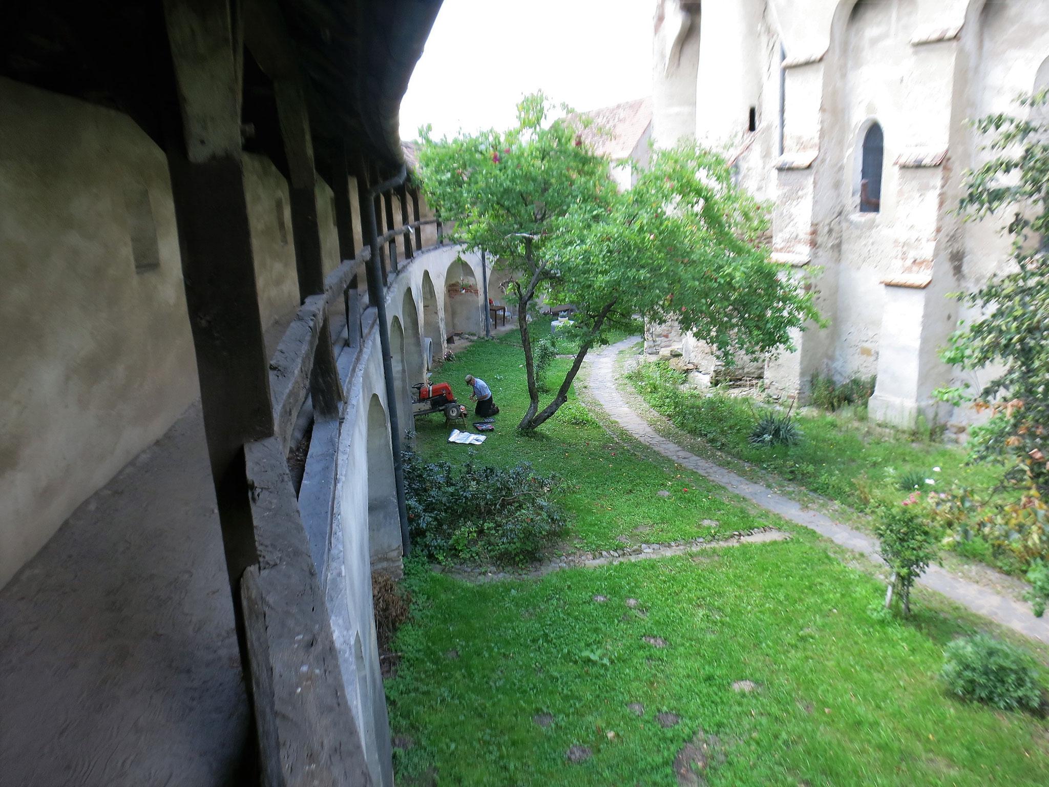 Valea Viilor: en el interior del recinto fortificado