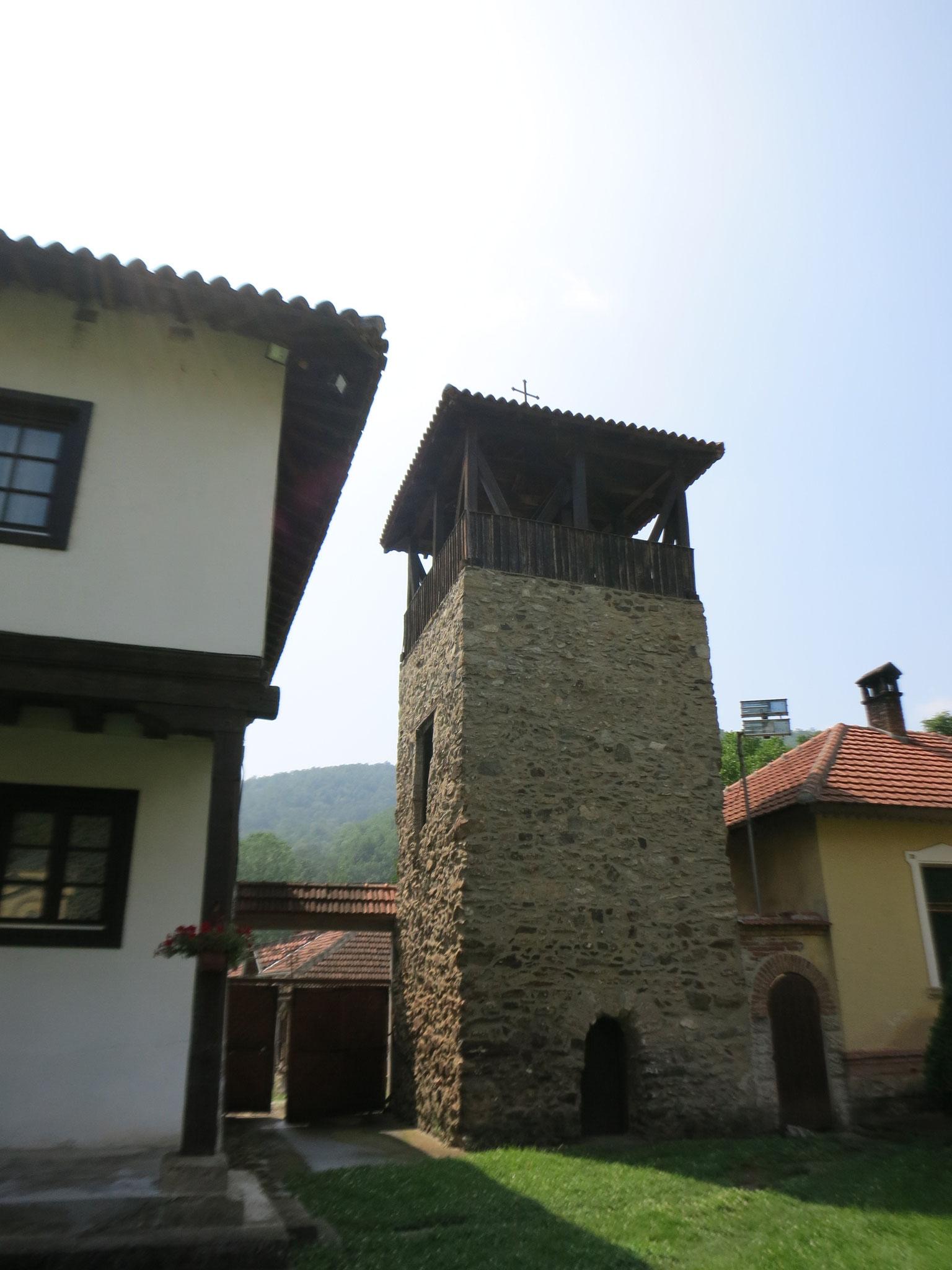 la torre del campanario (no es medieval)