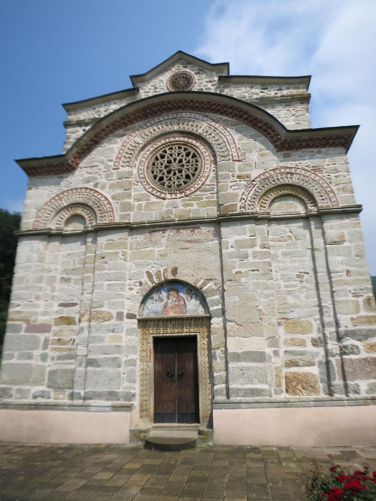 la puerta principal de entrada