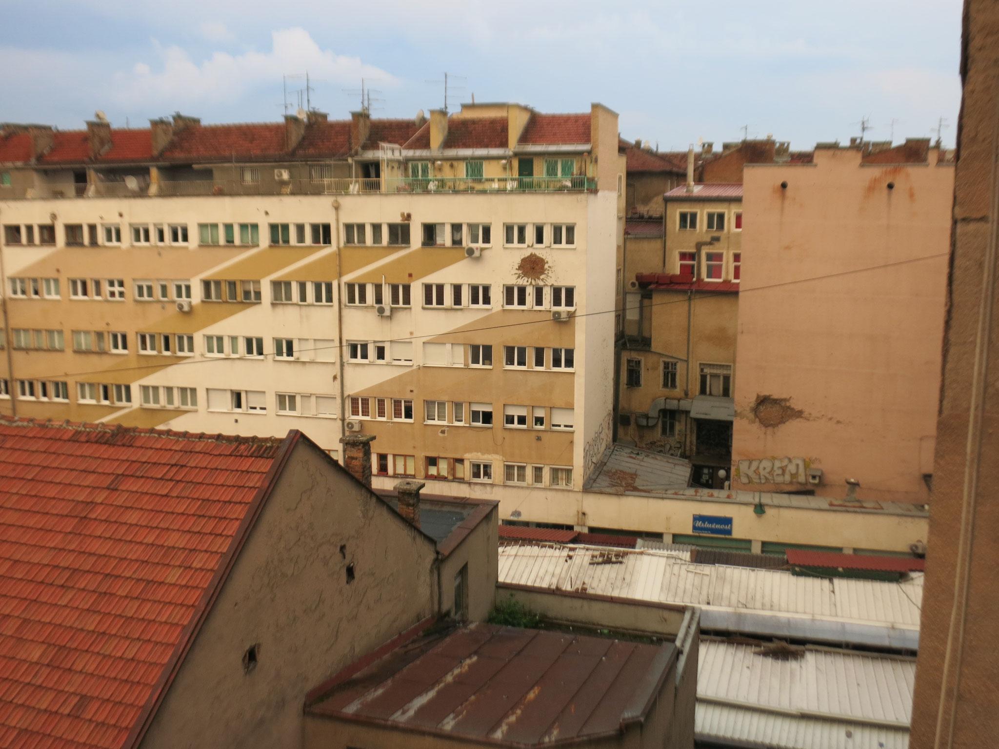Sarajevo (mit Einschusslöchern)