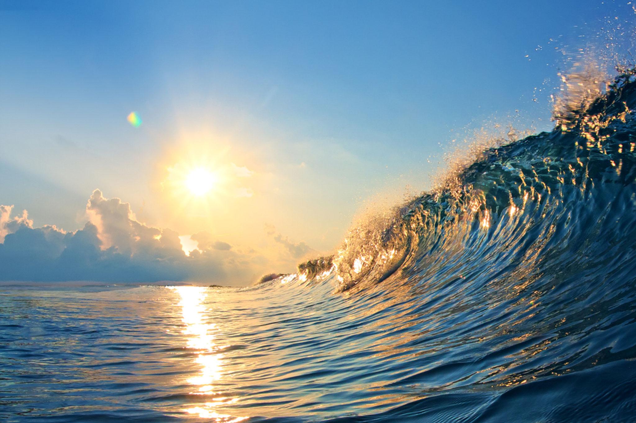 Gedanken sind Wellen - sie kommen und gehen.