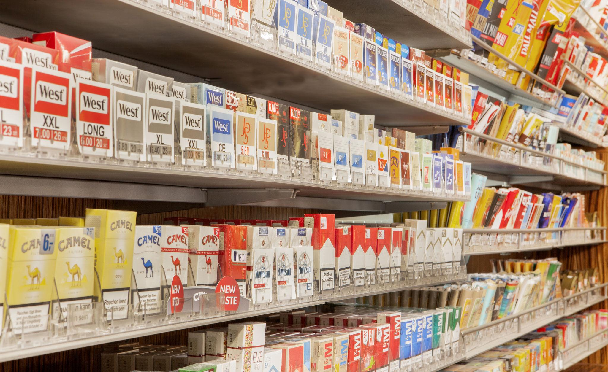 Zigaretten und Tabak