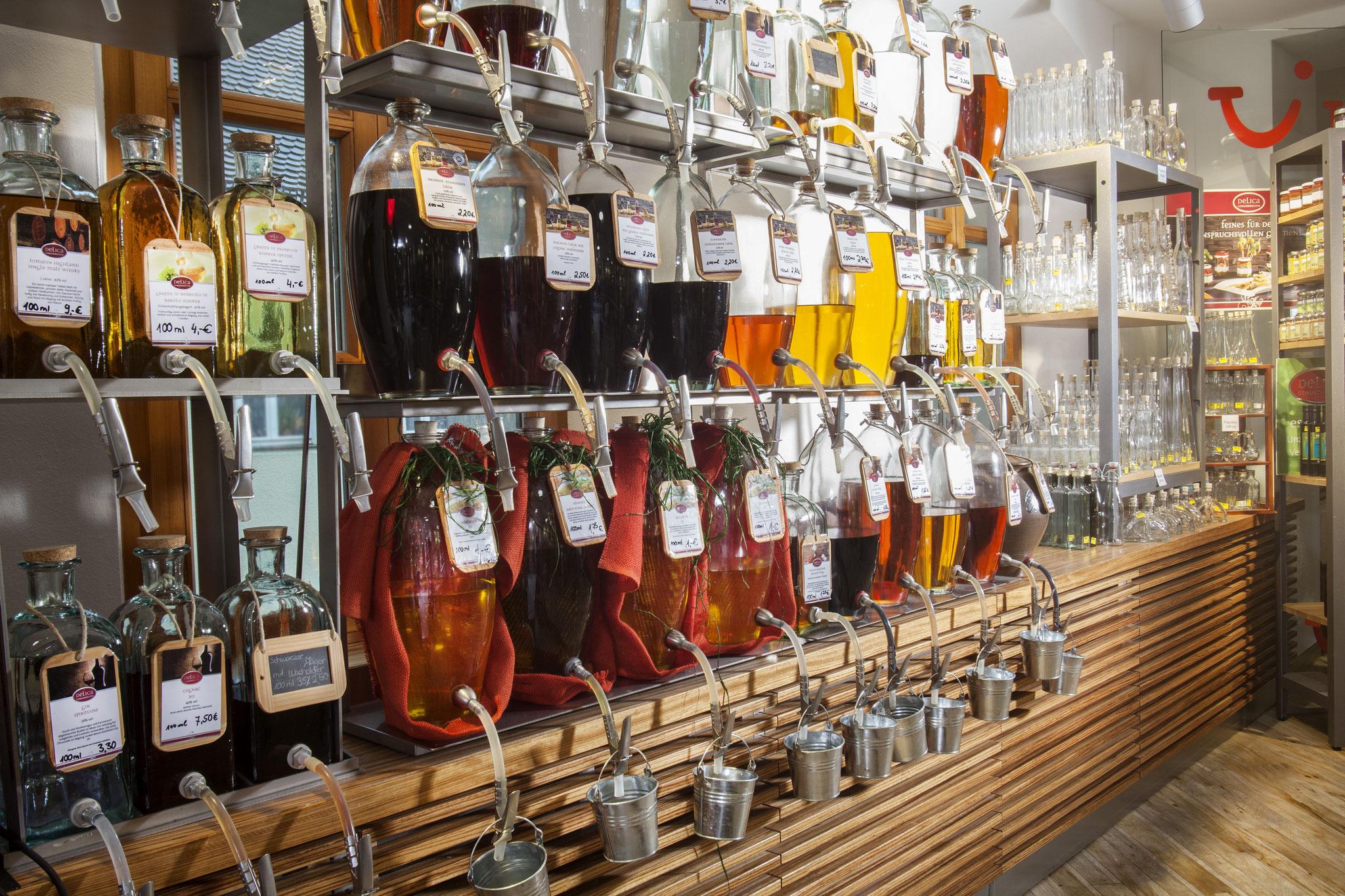 Feinkost Essig Öl zum abfüllen bei Ottmann in Sulzbach-Rosenberg