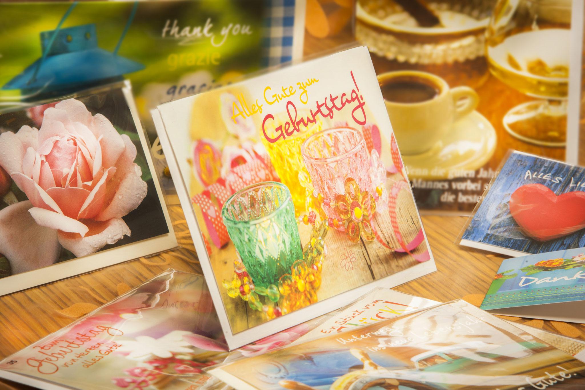 Glückwunschkarten Postkarten bei Ottmann in Sulzbach-Rosenberg