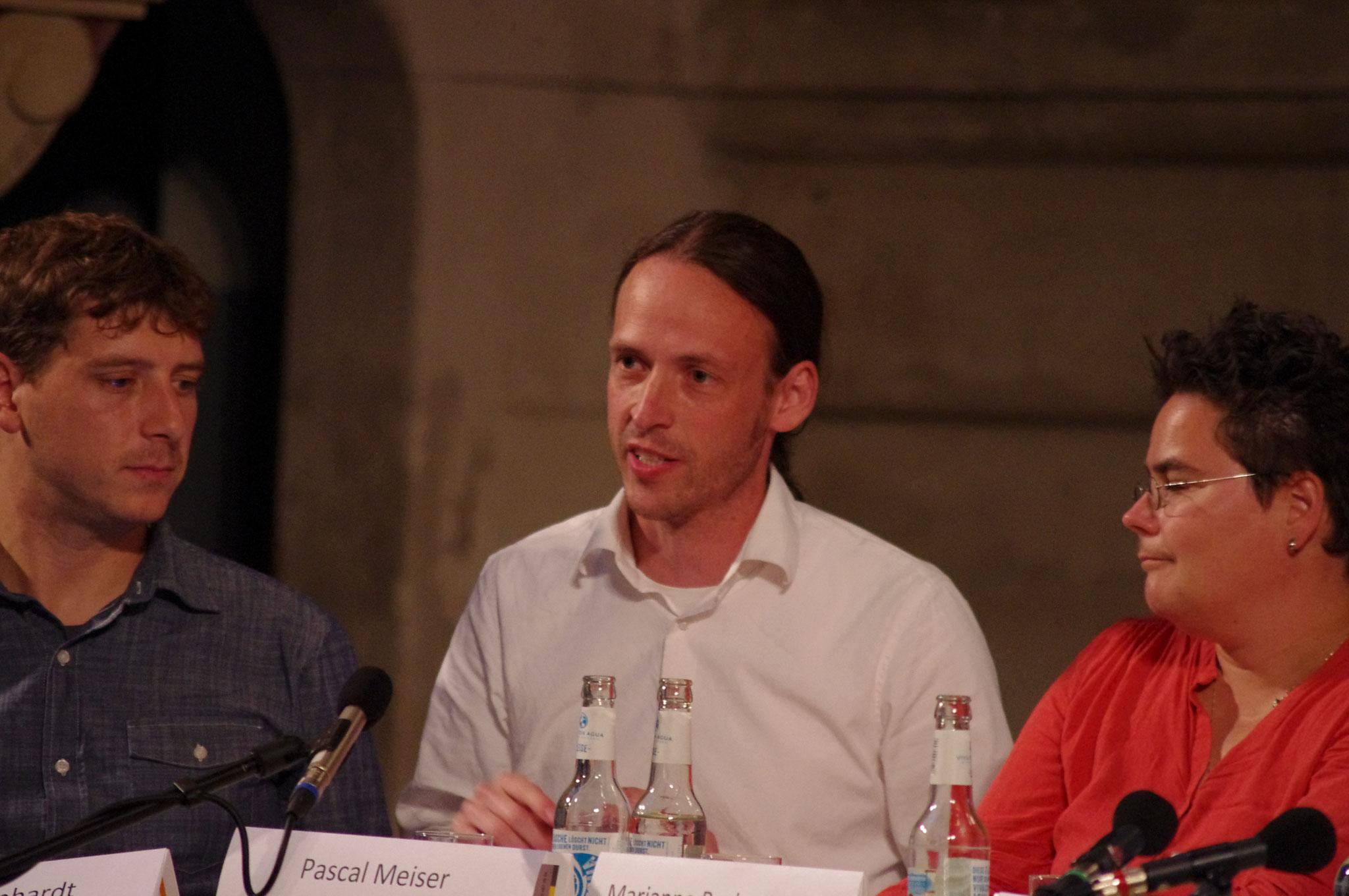 Linken-Kandidat Pascal Meisser