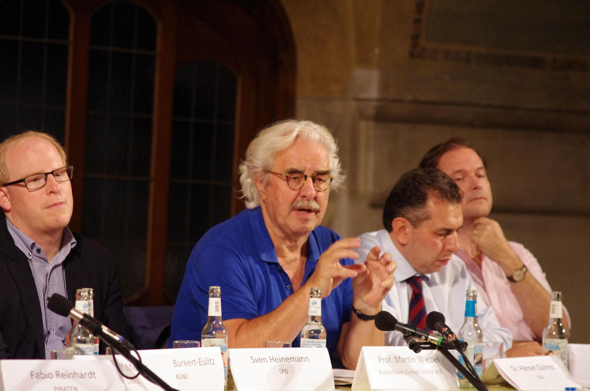 Moderator Prof. Martin Wiebel