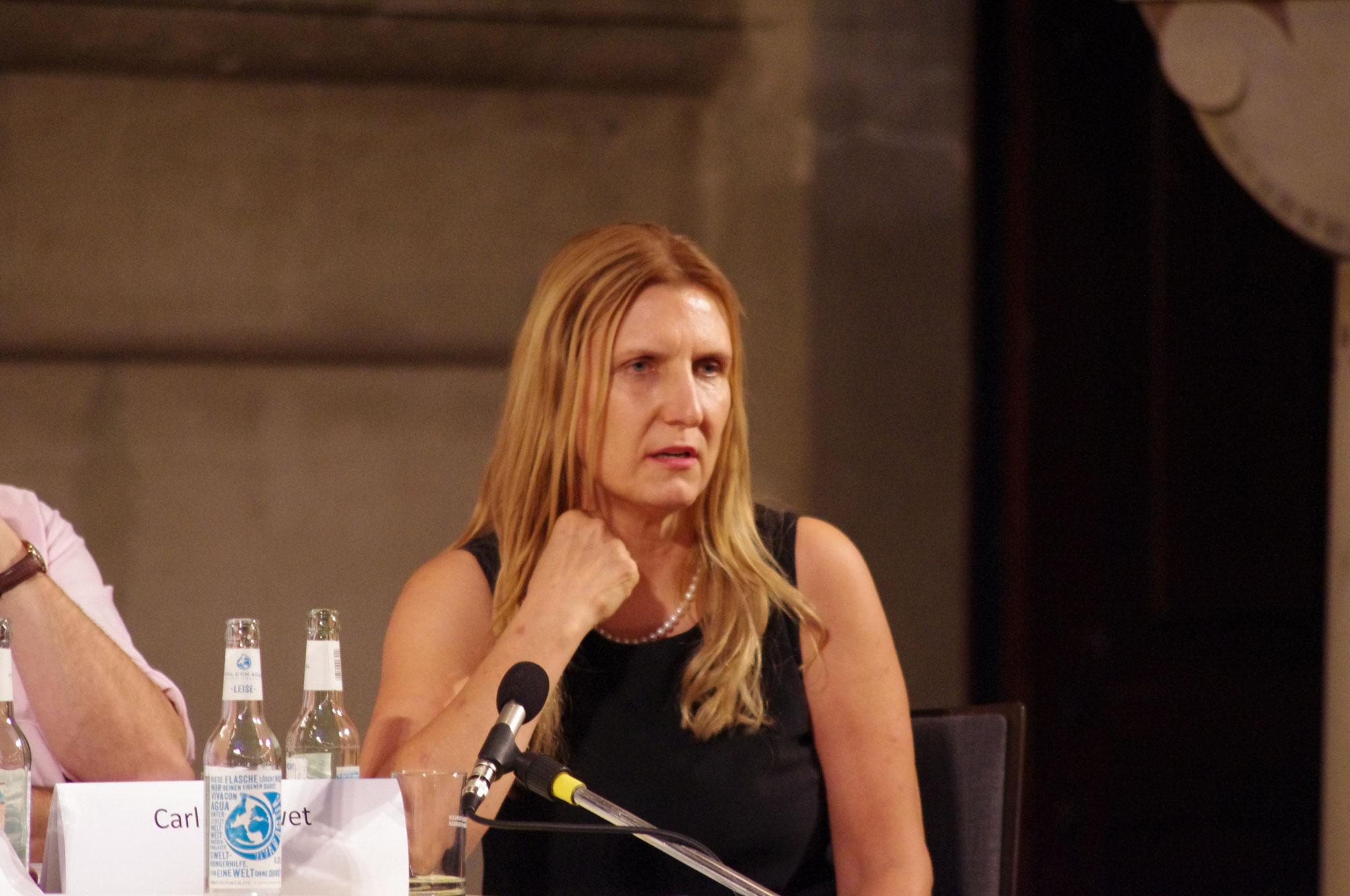 AfD-Kandidatin Sybille Schmidt (für Frank Scheermesser)