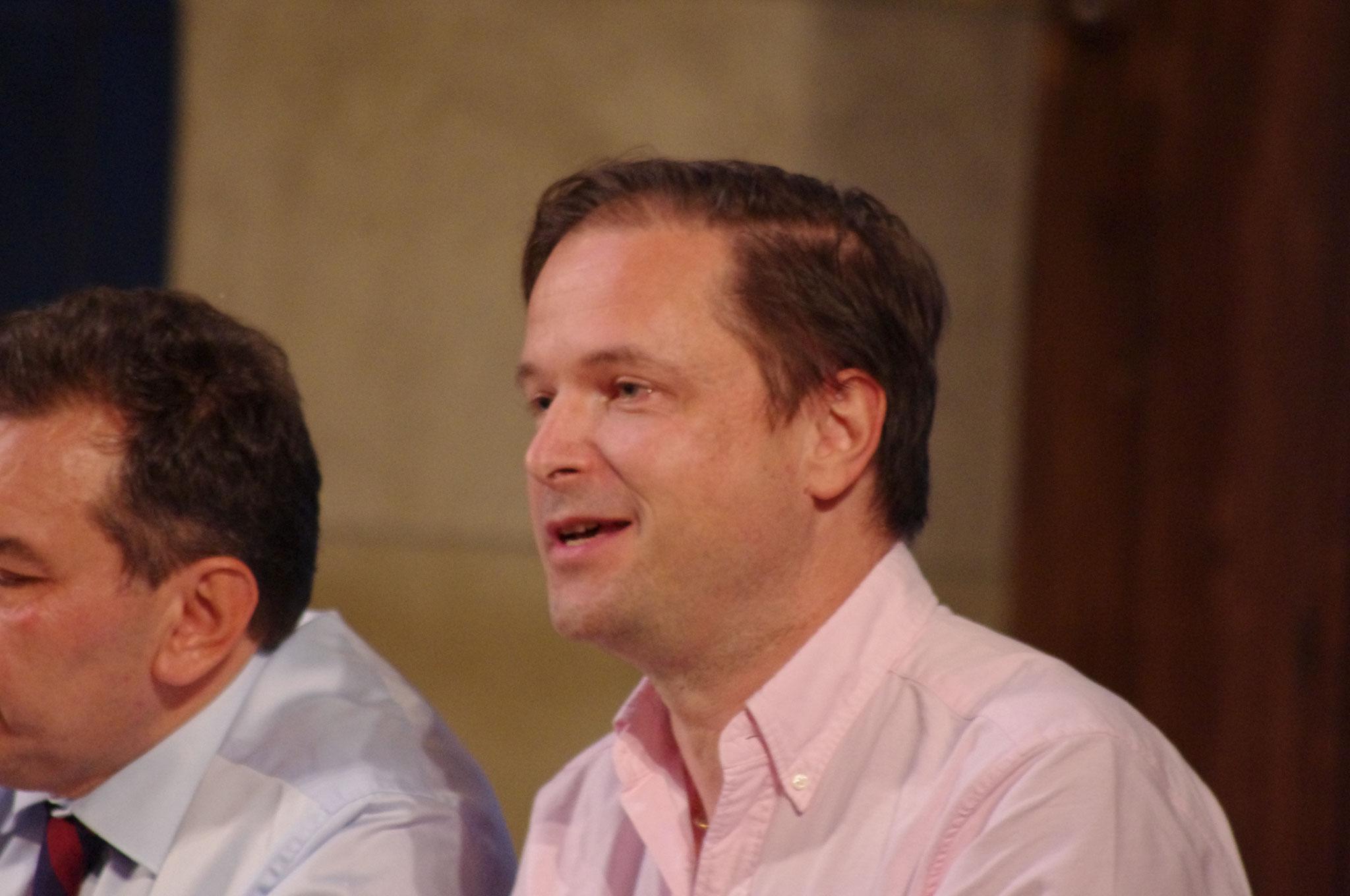 FDP-Kandidat Carl Grouwet