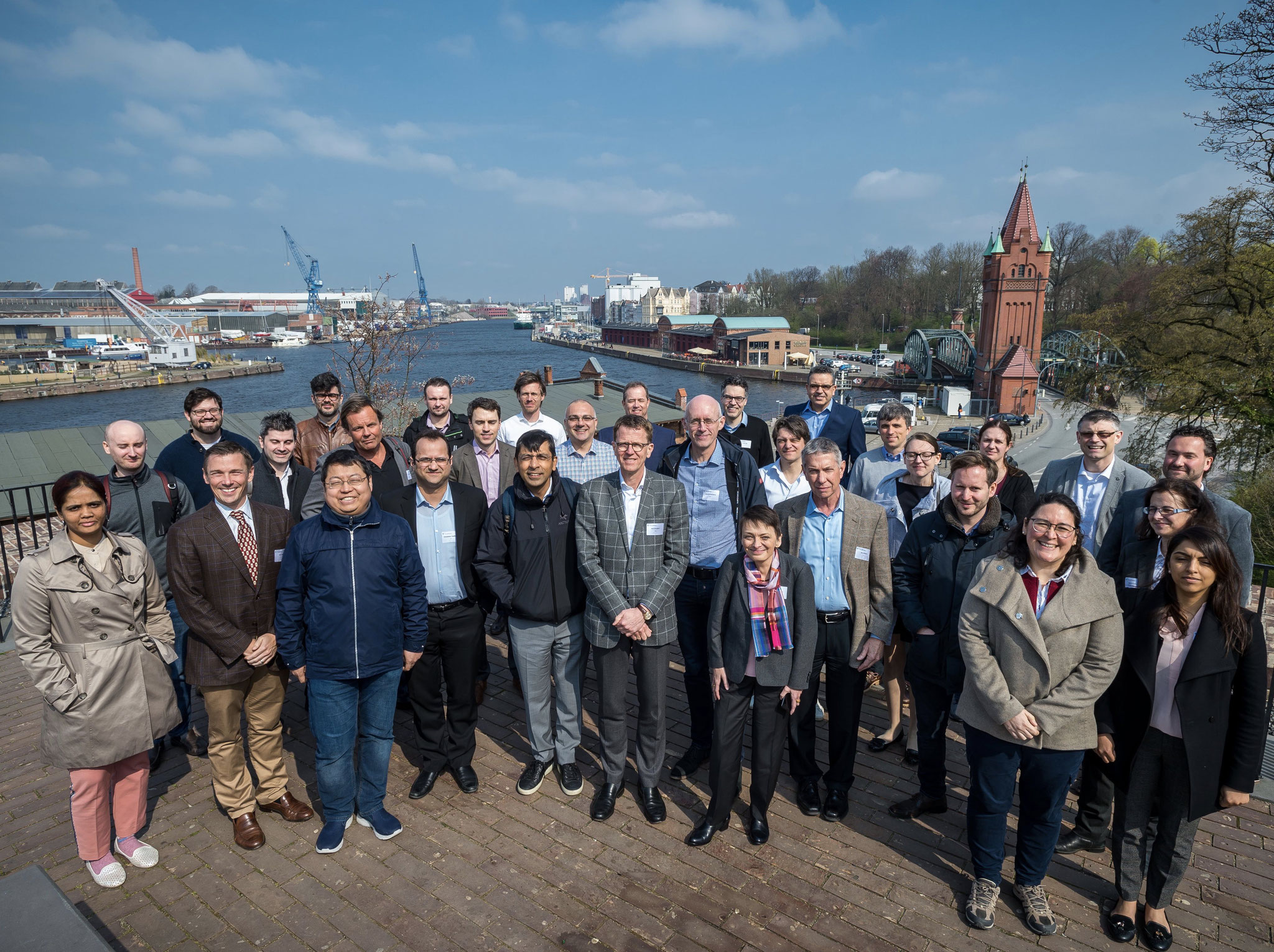 Group photo of PlaqOmics in Lübeck
