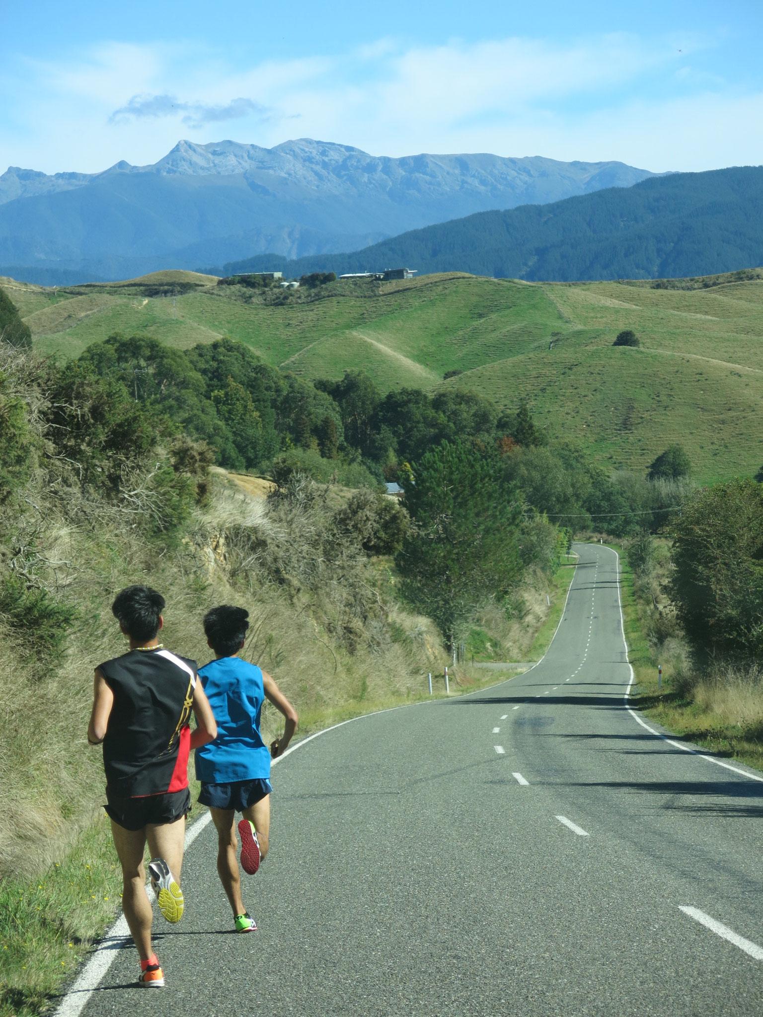 Upper Moutere / 距離走に。アップダウンのあるコース