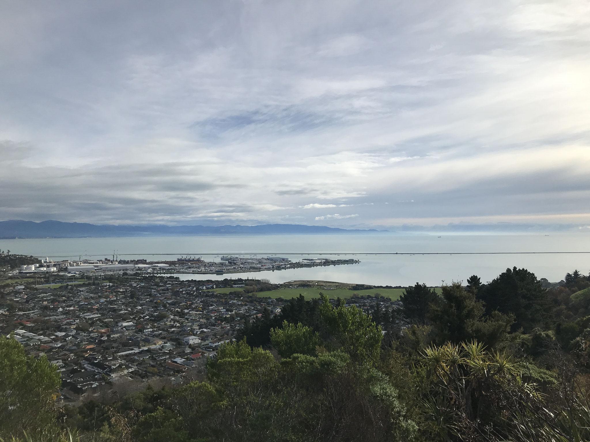 センターオブニュージーランドから見渡す景色