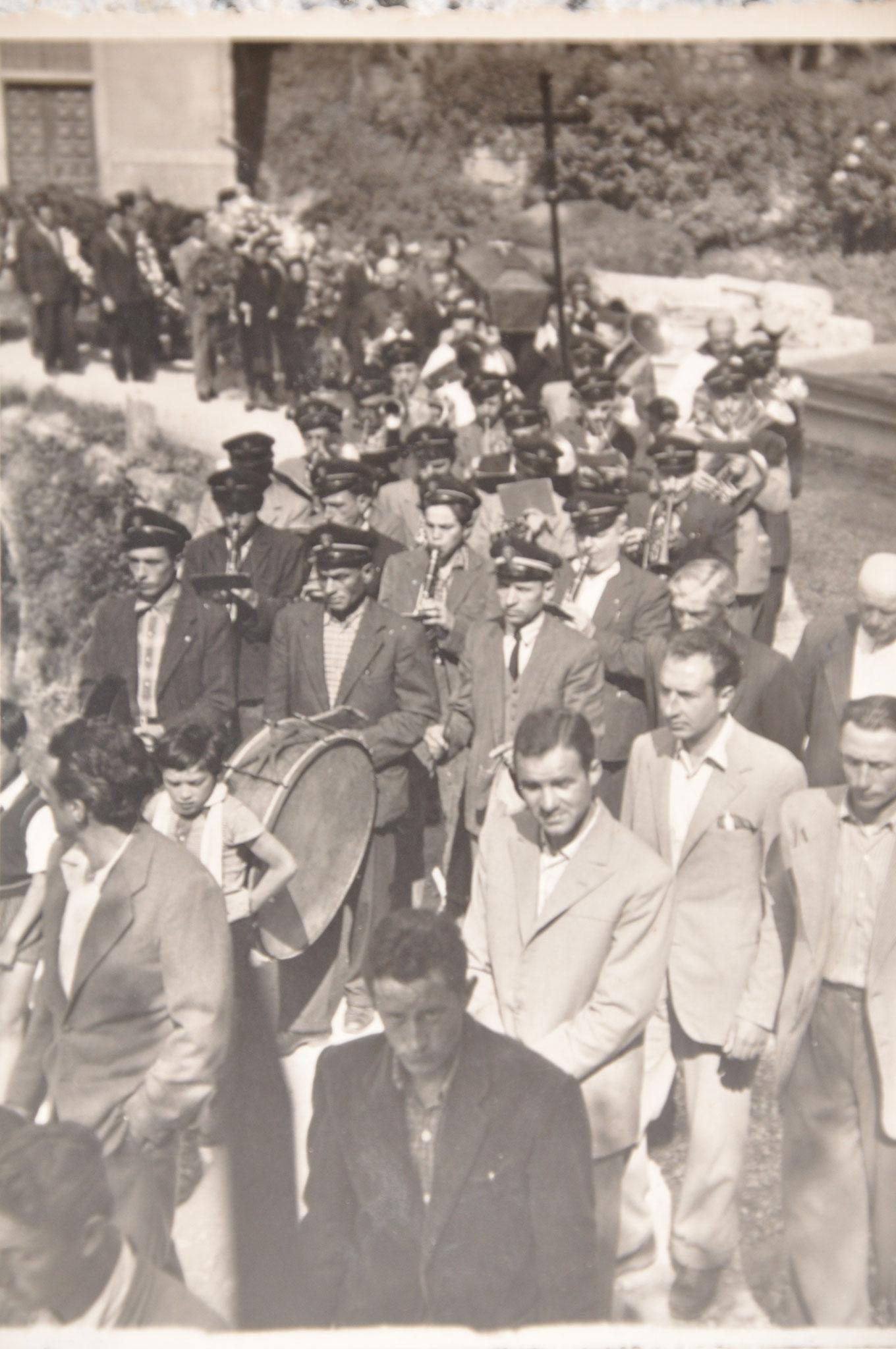 1955 Funerale