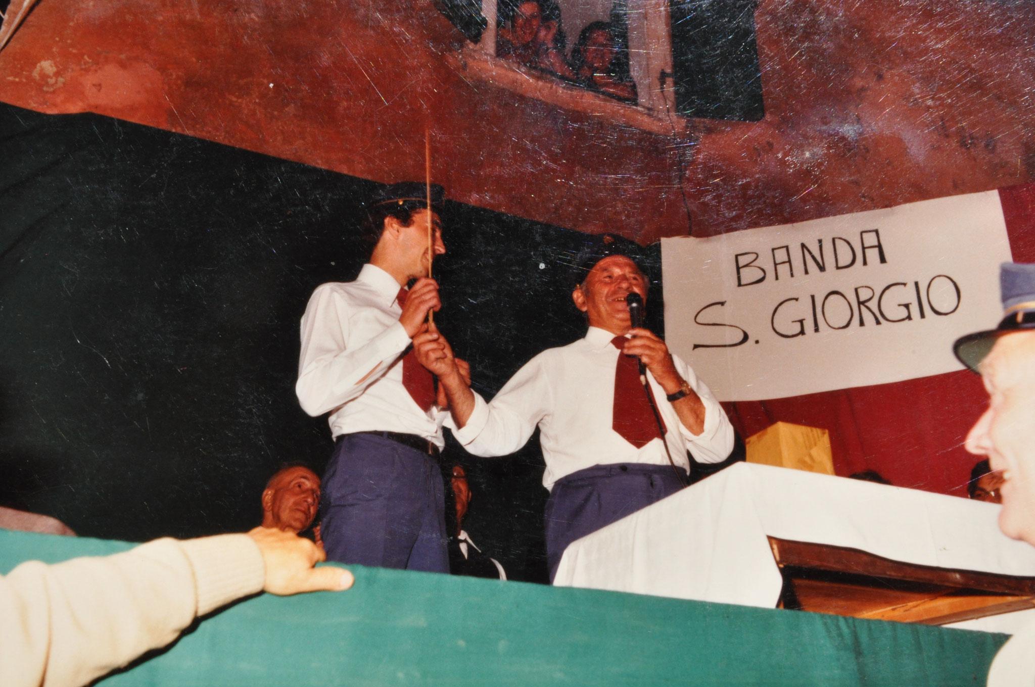 1980 Il passaggio della bacchetta da Leone Tarolli a Giorgio Bagozzi
