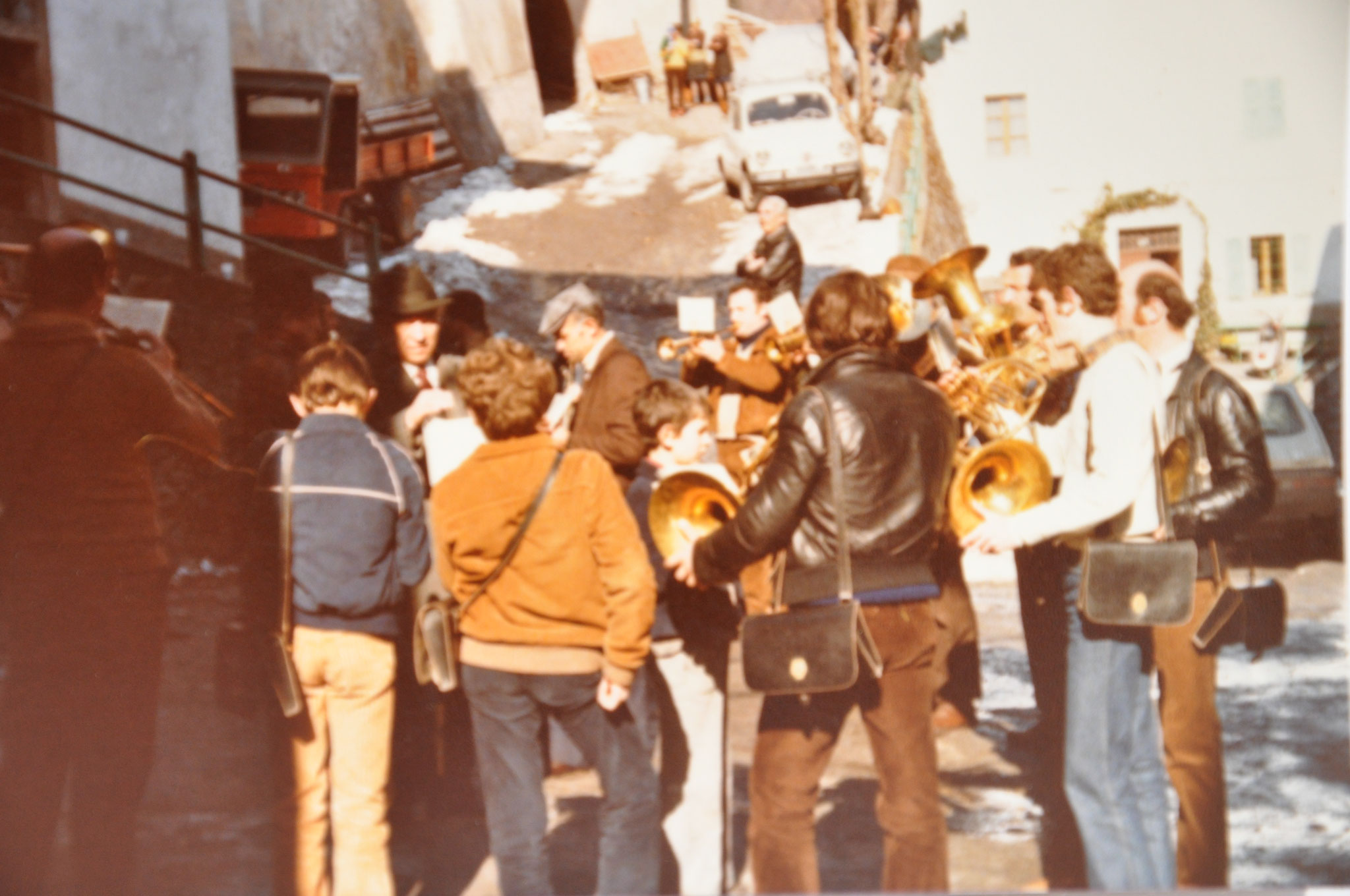 1980 Carnevale a Castel Condino