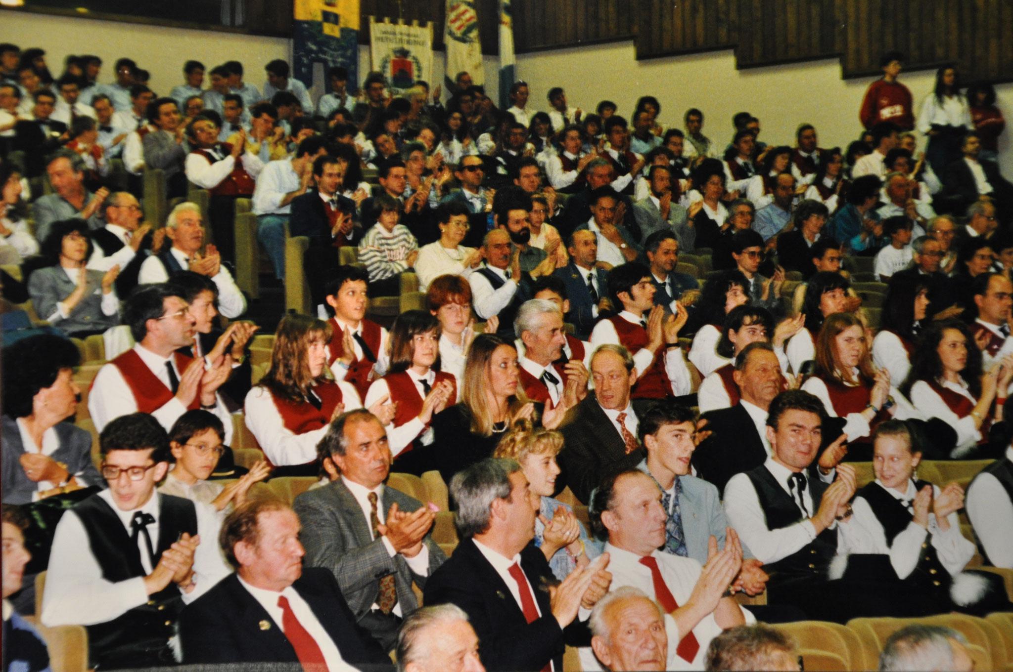 1993 - Auditorium S.Chiara per 30° di fondazione Federazione Corpi Bandistici di Trento