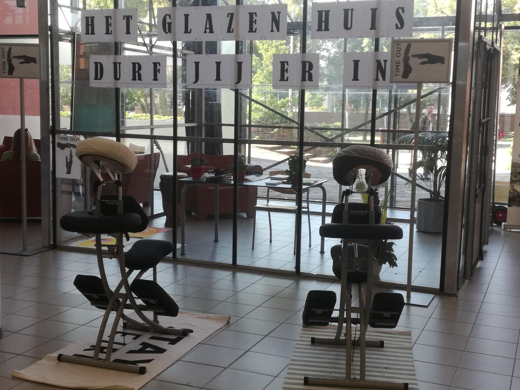 Hogeschool Arnhem Nijmegen: Masseren bij Het Glazen Huis